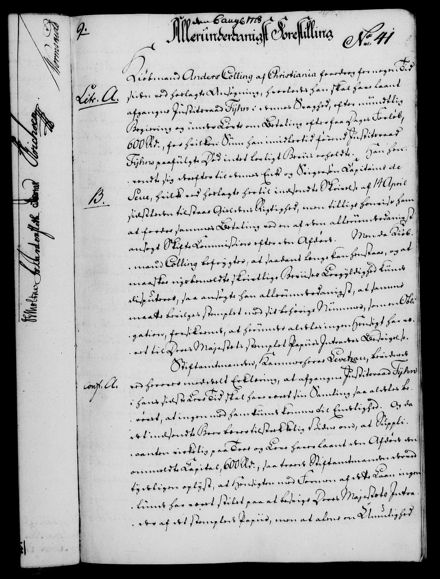 RA, Rentekammeret, Kammerkanselliet, G/Gf/Gfa/L0060: Norsk relasjons- og resolusjonsprotokoll (merket RK 52.60), 1778, s. 365