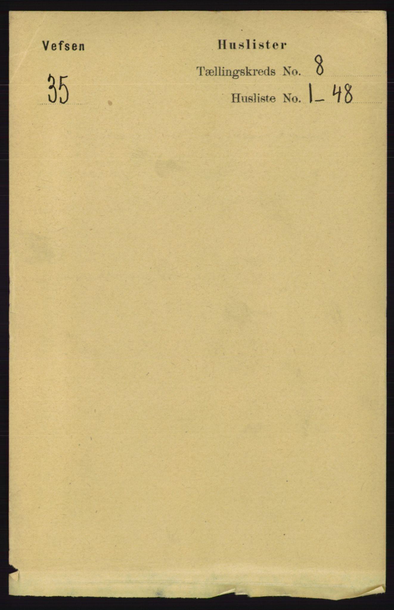RA, Folketelling 1891 for 1824 Vefsn herred, 1891, s. 4185