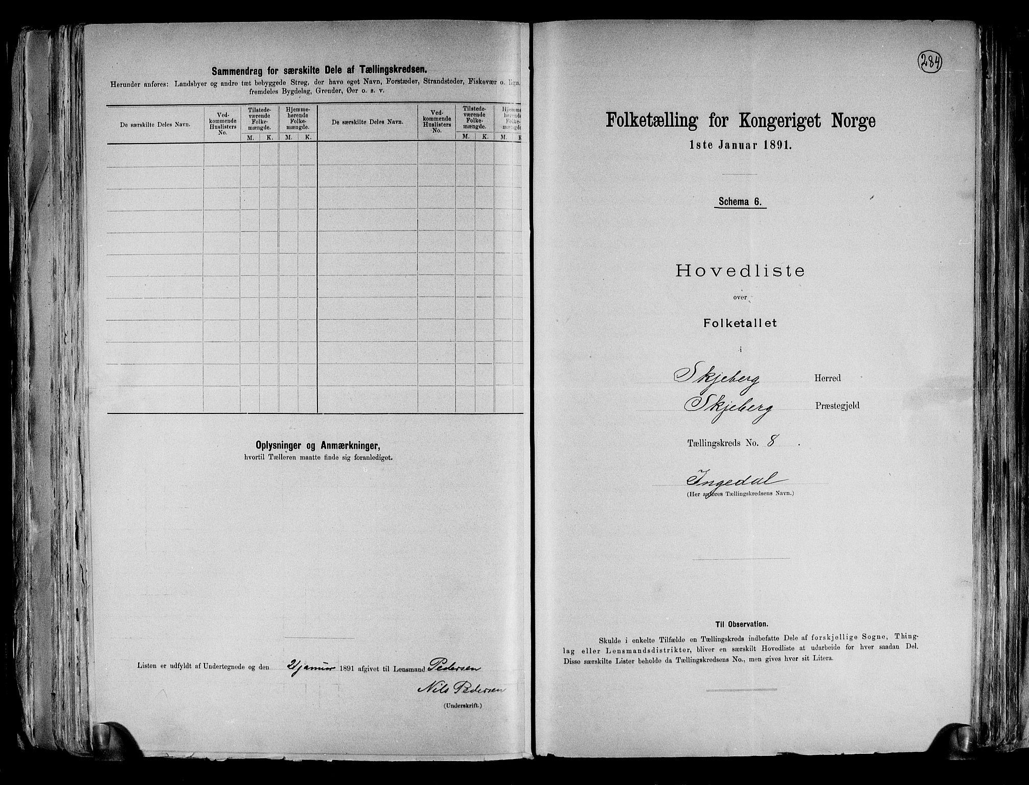 RA, Folketelling 1891 for 0115 Skjeberg herred, 1891, s. 21