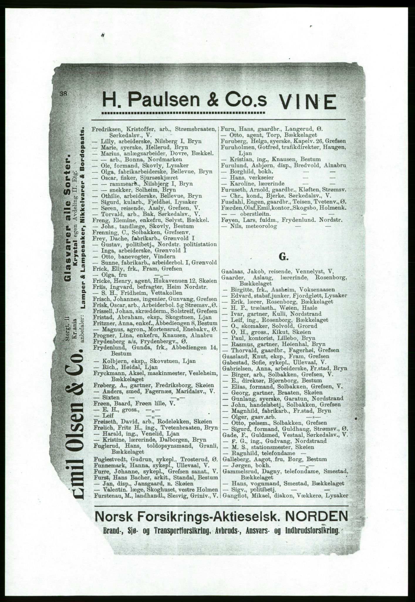 PUBL, Aker adressebok/adressekalender, 1916-1917, s. 38