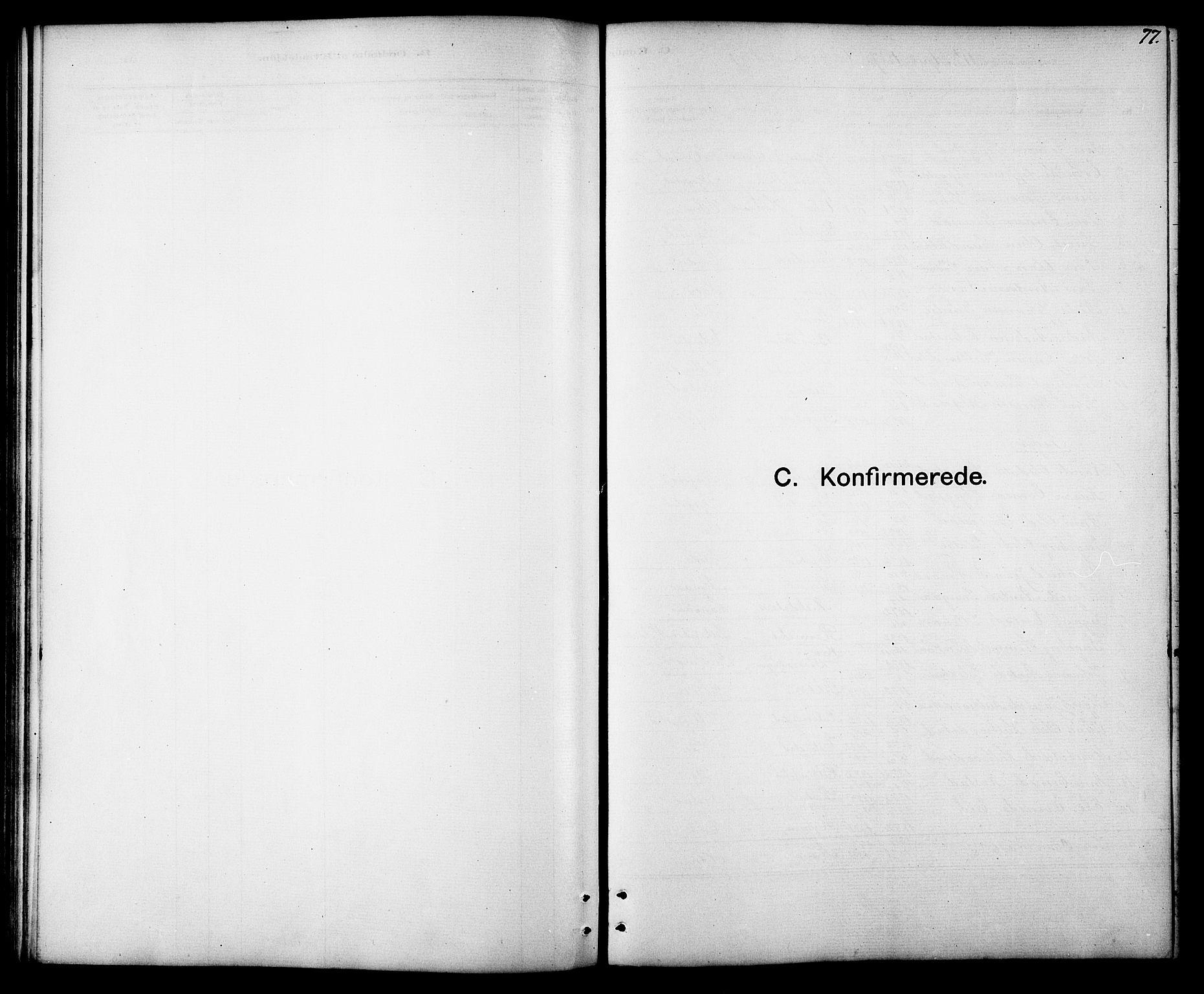 SAT, Ministerialprotokoller, klokkerbøker og fødselsregistre - Sør-Trøndelag, 694/L1132: Klokkerbok nr. 694C04, 1887-1914, s. 77