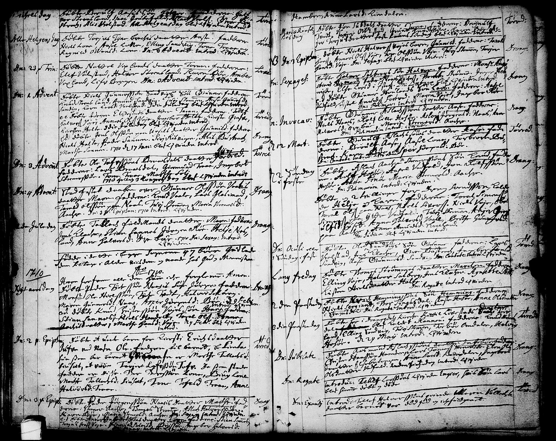 SAKO, Drangedal kirkebøker, F/Fa/L0001: Ministerialbok nr. 1, 1697-1767, s. 23