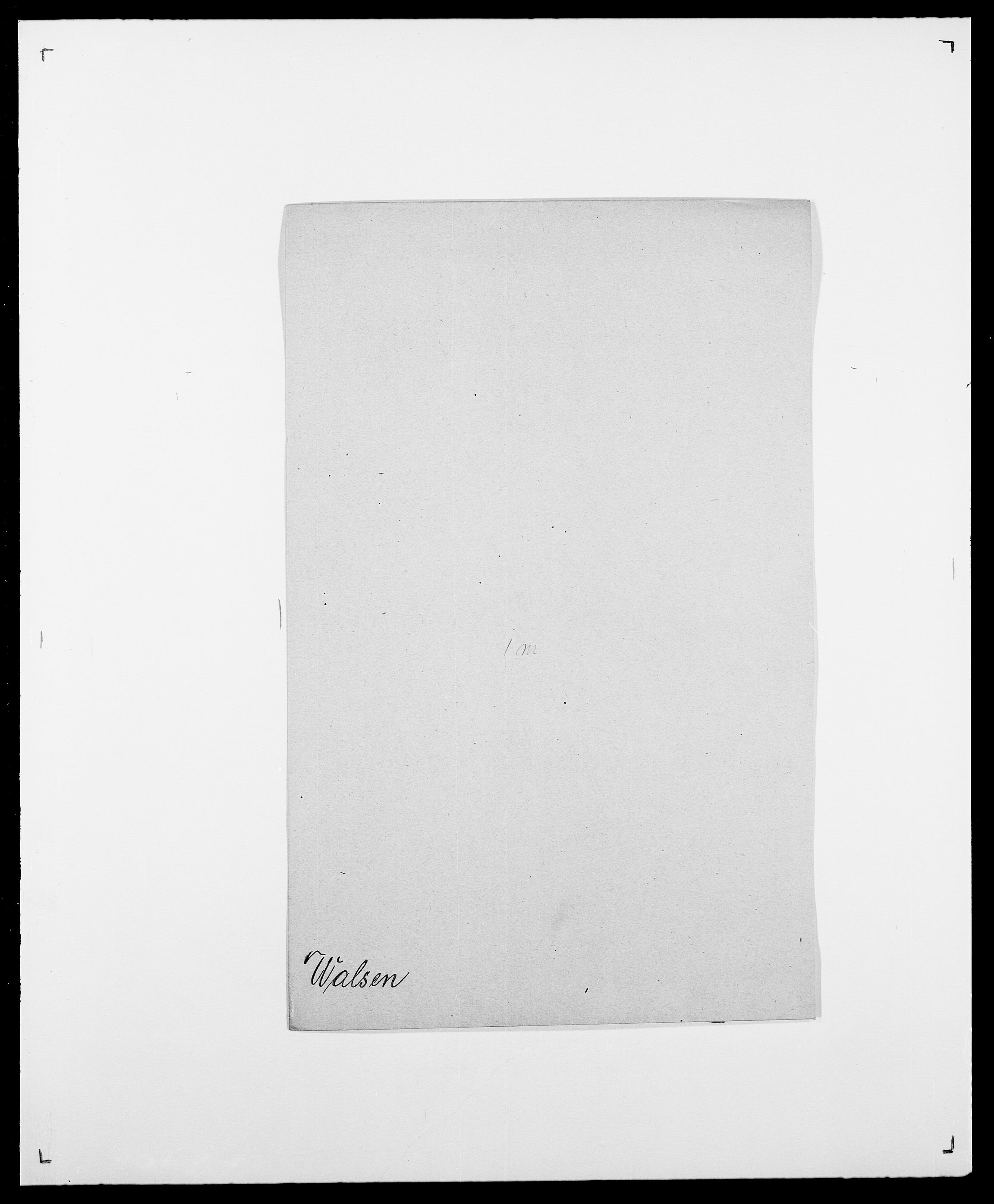 SAO, Delgobe, Charles Antoine - samling, D/Da/L0040: Usgaard - Velund, s. 217