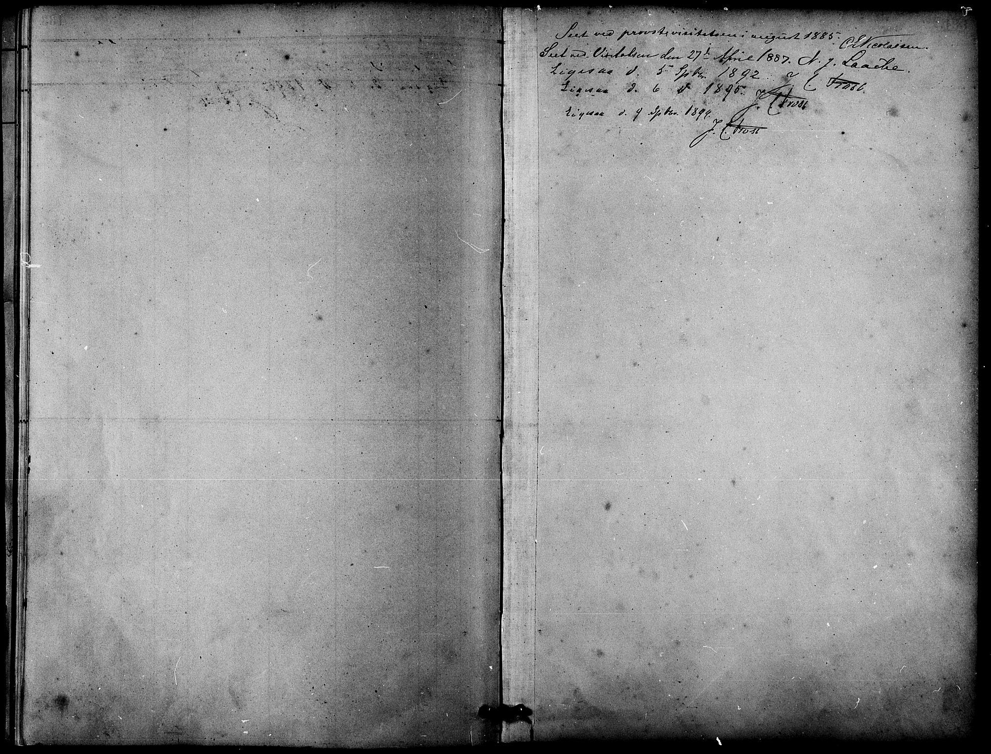 SAT, Ministerialprotokoller, klokkerbøker og fødselsregistre - Sør-Trøndelag, 633/L0519: Klokkerbok nr. 633C01, 1884-1905
