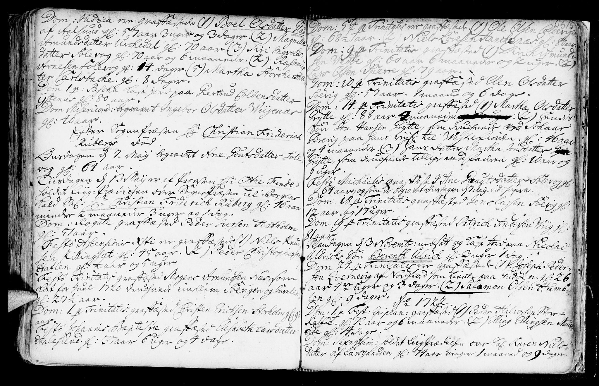 SAT, Ministerialprotokoller, klokkerbøker og fødselsregistre - Møre og Romsdal, 528/L0390: Ministerialbok nr. 528A01, 1698-1739, s. 514-515