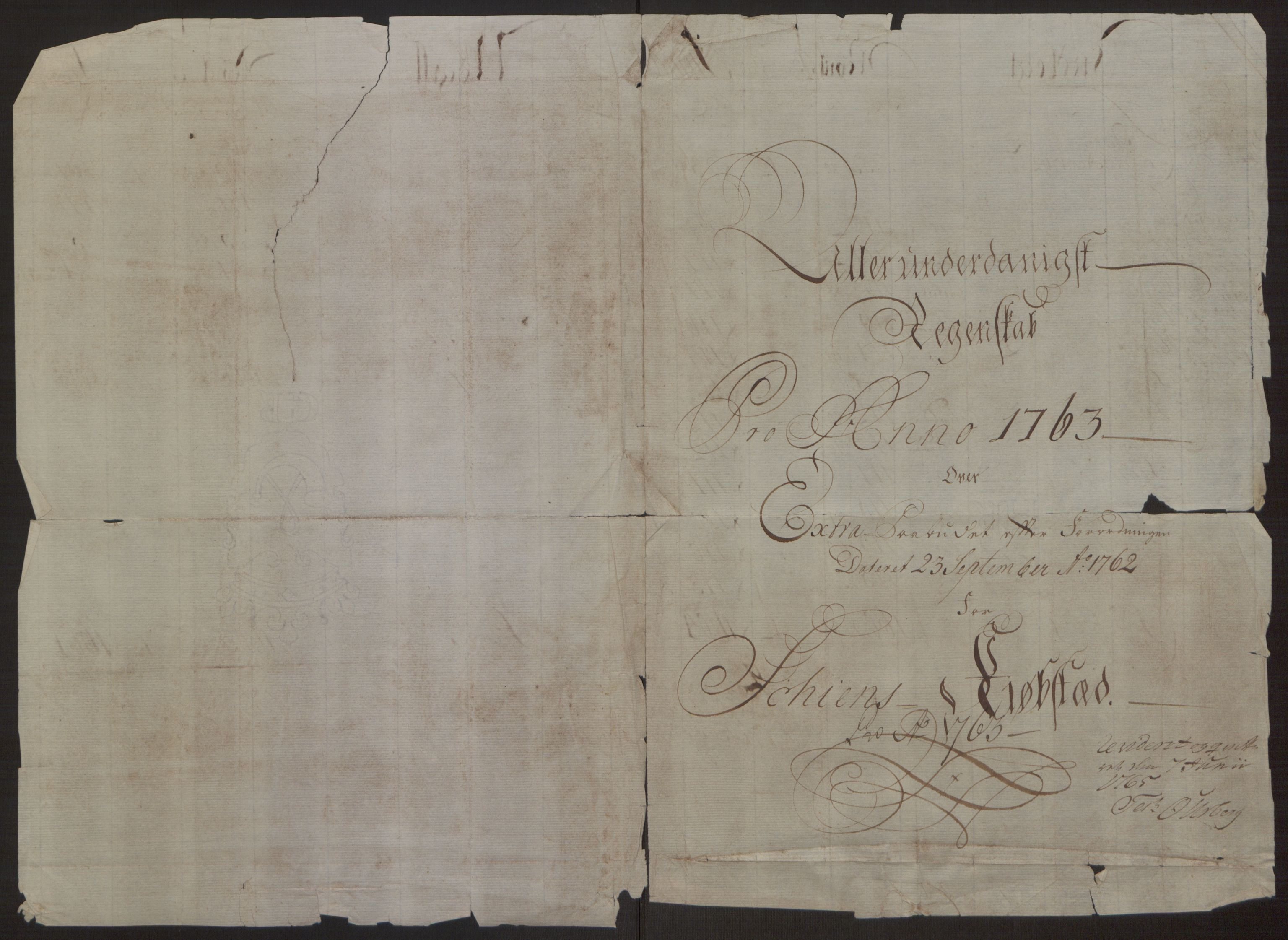 RA, Rentekammeret inntil 1814, Reviderte regnskaper, Byregnskaper, R/Rj/L0198: [J4] Kontribusjonsregnskap, 1762-1768, s. 104