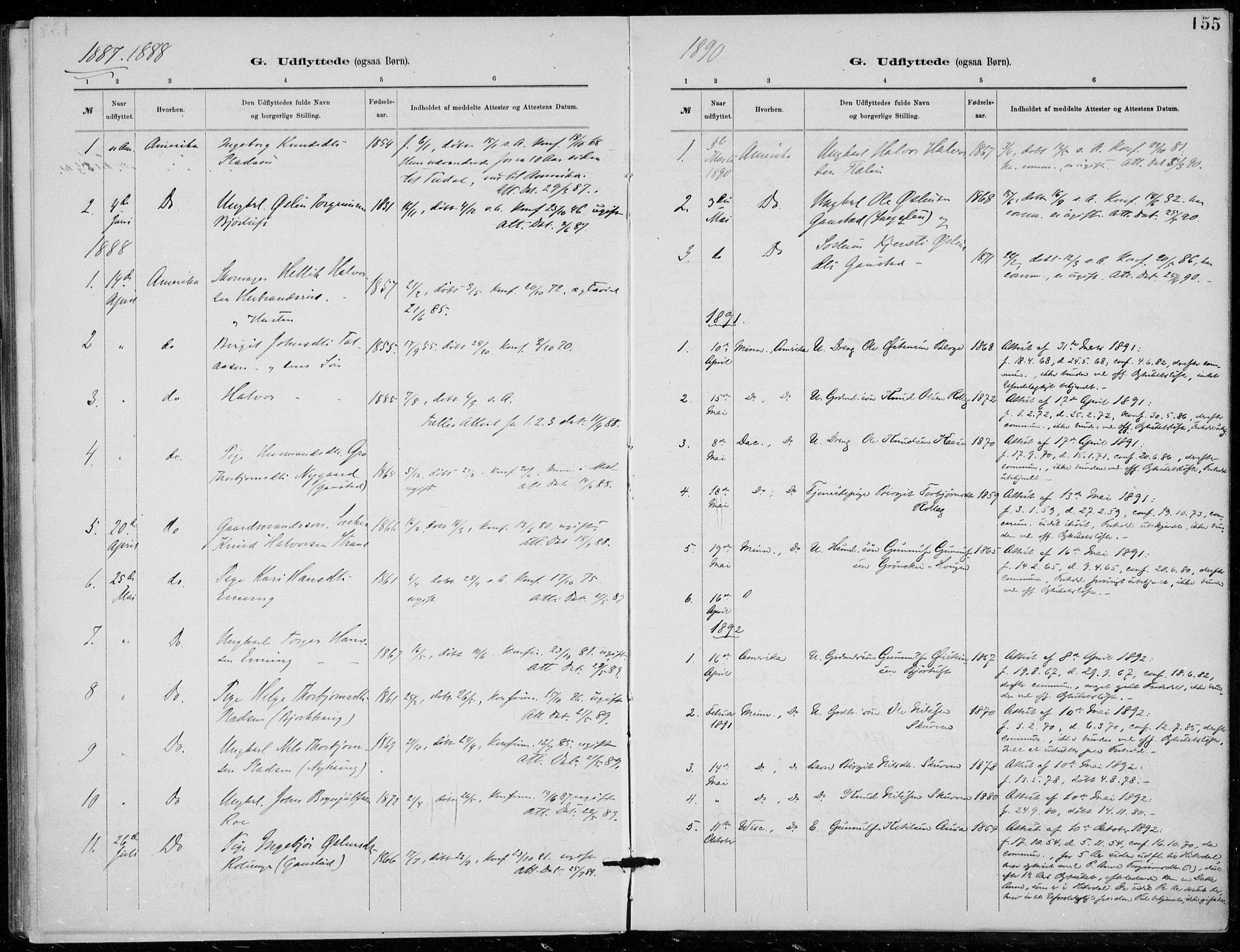 SAKO, Tinn kirkebøker, F/Fb/L0002: Ministerialbok nr. II 2, 1878-1917, s. 155