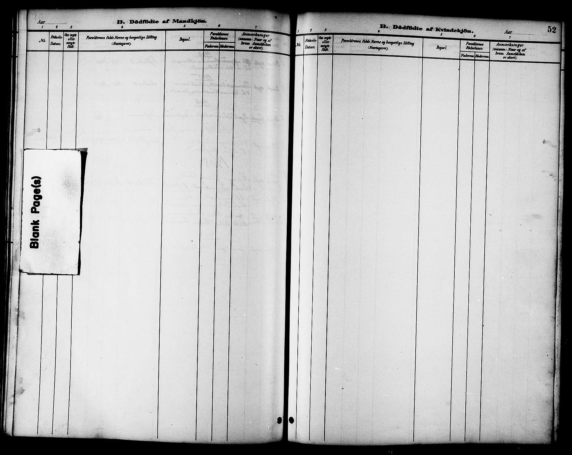 SAT, Ministerialprotokoller, klokkerbøker og fødselsregistre - Nord-Trøndelag, 783/L0662: Klokkerbok nr. 783C02, 1894-1919, s. 52