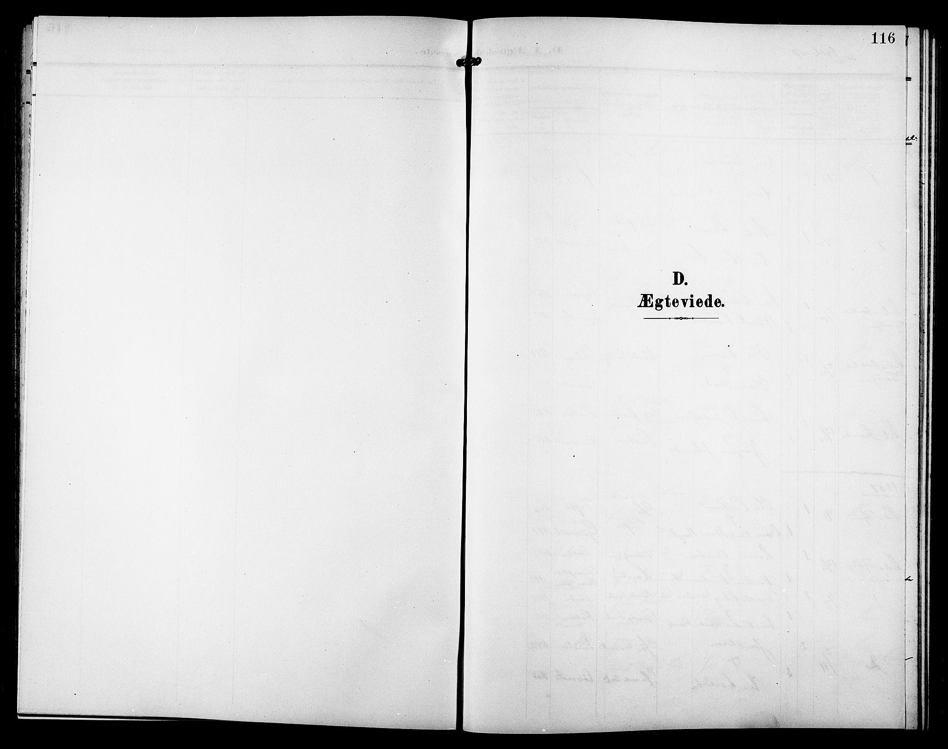 SAT, Ministerialprotokoller, klokkerbøker og fødselsregistre - Sør-Trøndelag, 633/L0520: Klokkerbok nr. 633C02, 1906-1921, s. 116