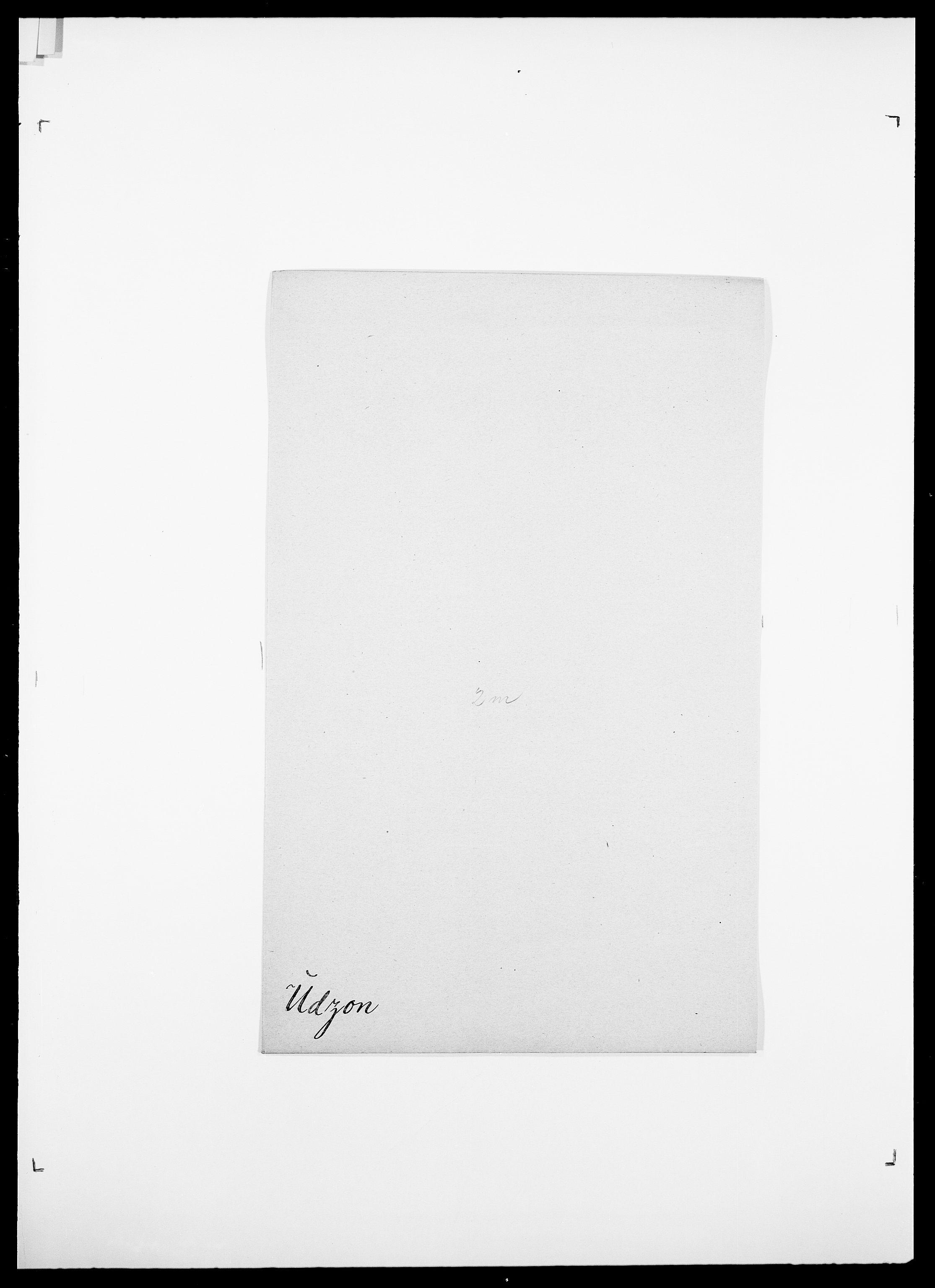 SAO, Delgobe, Charles Antoine - samling, D/Da/L0039: Thorsen - Urup, s. 626