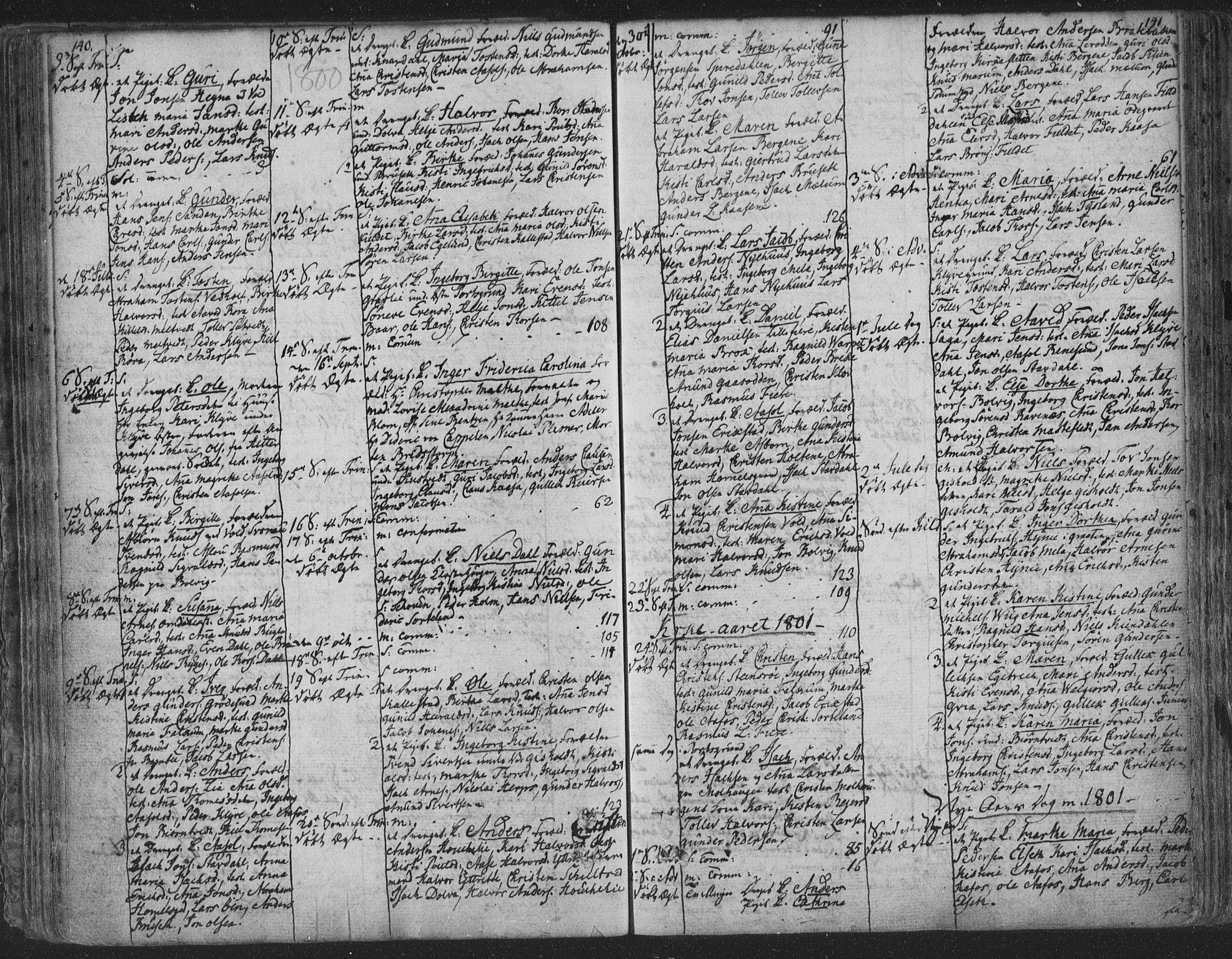 SAKO, Solum kirkebøker, F/Fa/L0003: Ministerialbok nr. I 3, 1761-1814, s. 140-141