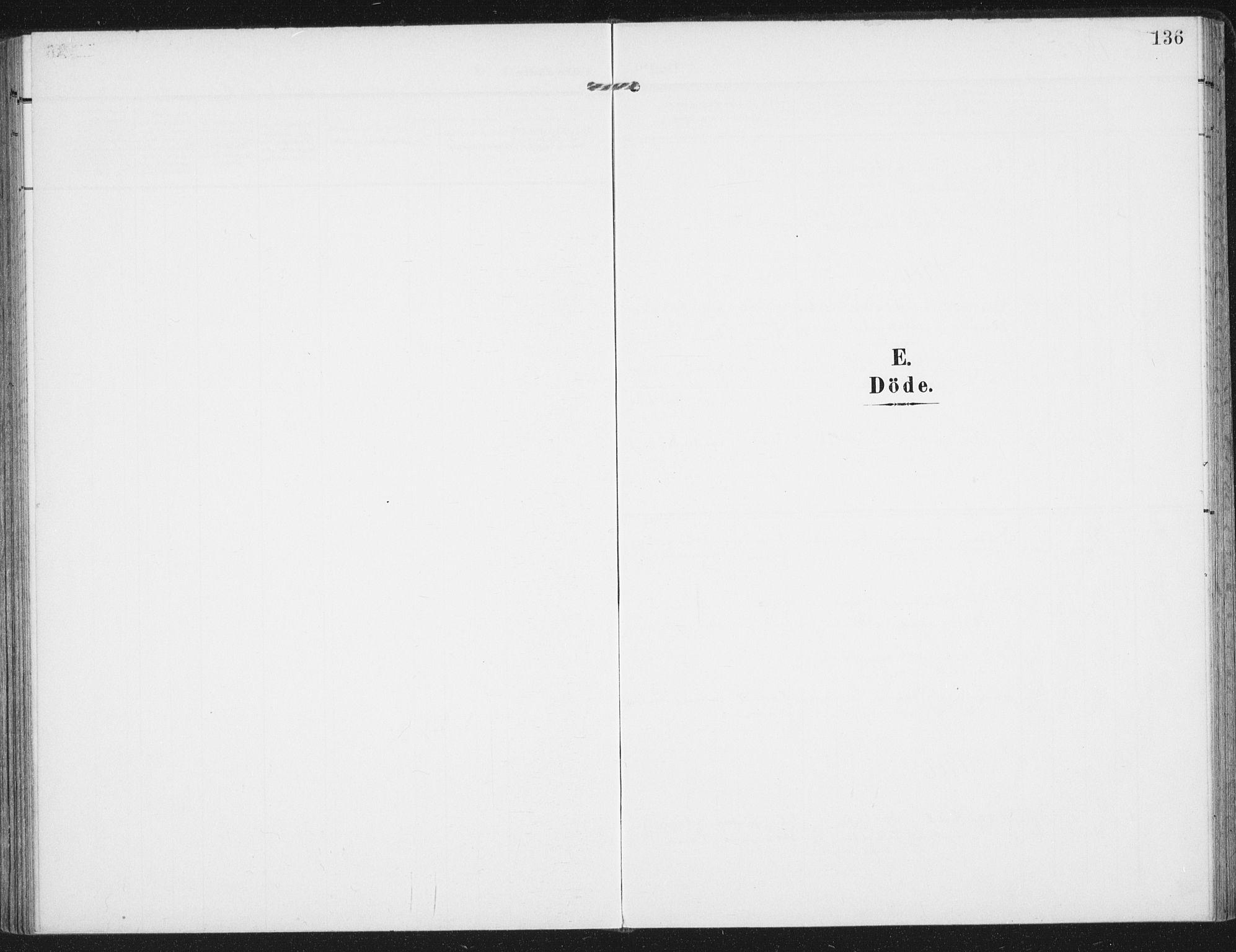 SAT, Ministerialprotokoller, klokkerbøker og fødselsregistre - Nordland, 885/L1206: Ministerialbok nr. 885A07, 1905-1915, s. 136