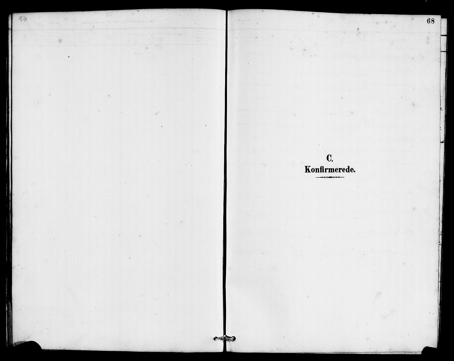 SAB, Eid Sokneprestembete, H/Hab: Klokkerbok nr. C 2, 1887-1906, s. 68