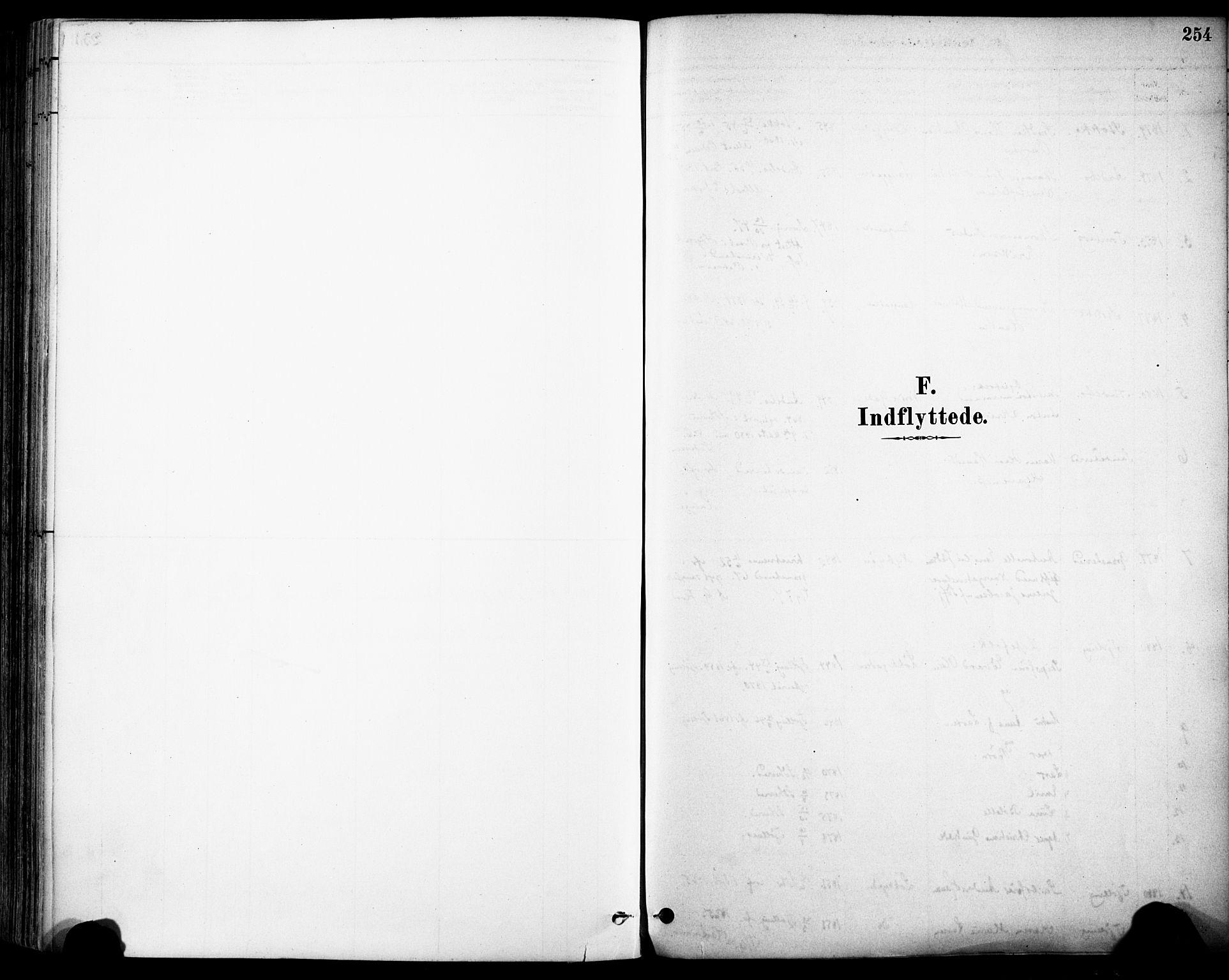 SAKO, Sandefjord kirkebøker, F/Fa/L0002: Ministerialbok nr. 2, 1880-1894, s. 254