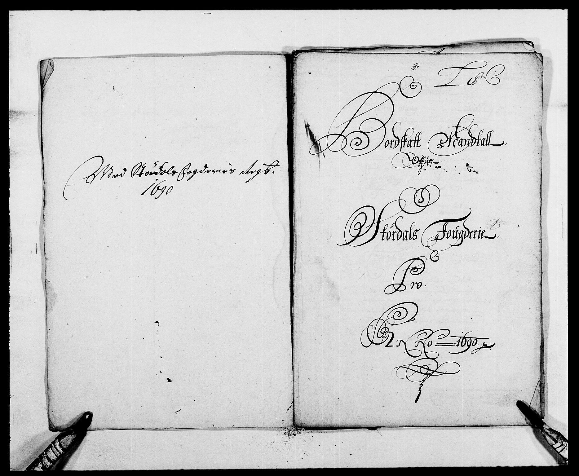 RA, Rentekammeret inntil 1814, Reviderte regnskaper, Fogderegnskap, R62/L4184: Fogderegnskap Stjørdal og Verdal, 1690-1691, s. 78