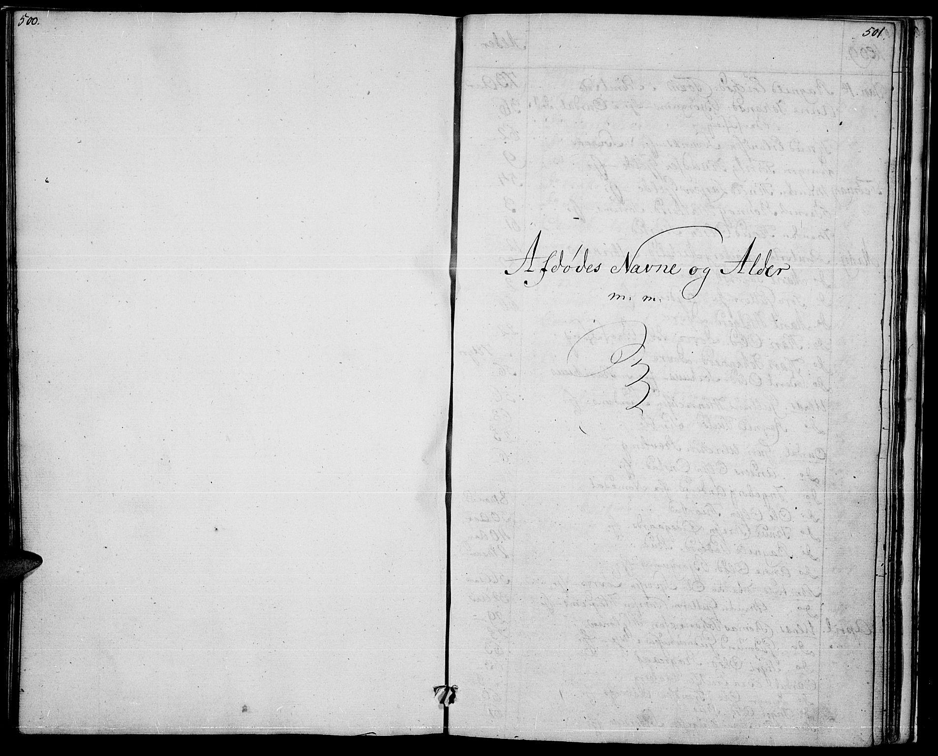 SAH, Nord-Aurdal prestekontor, Ministerialbok nr. 1, 1808-1815, s. 500-501