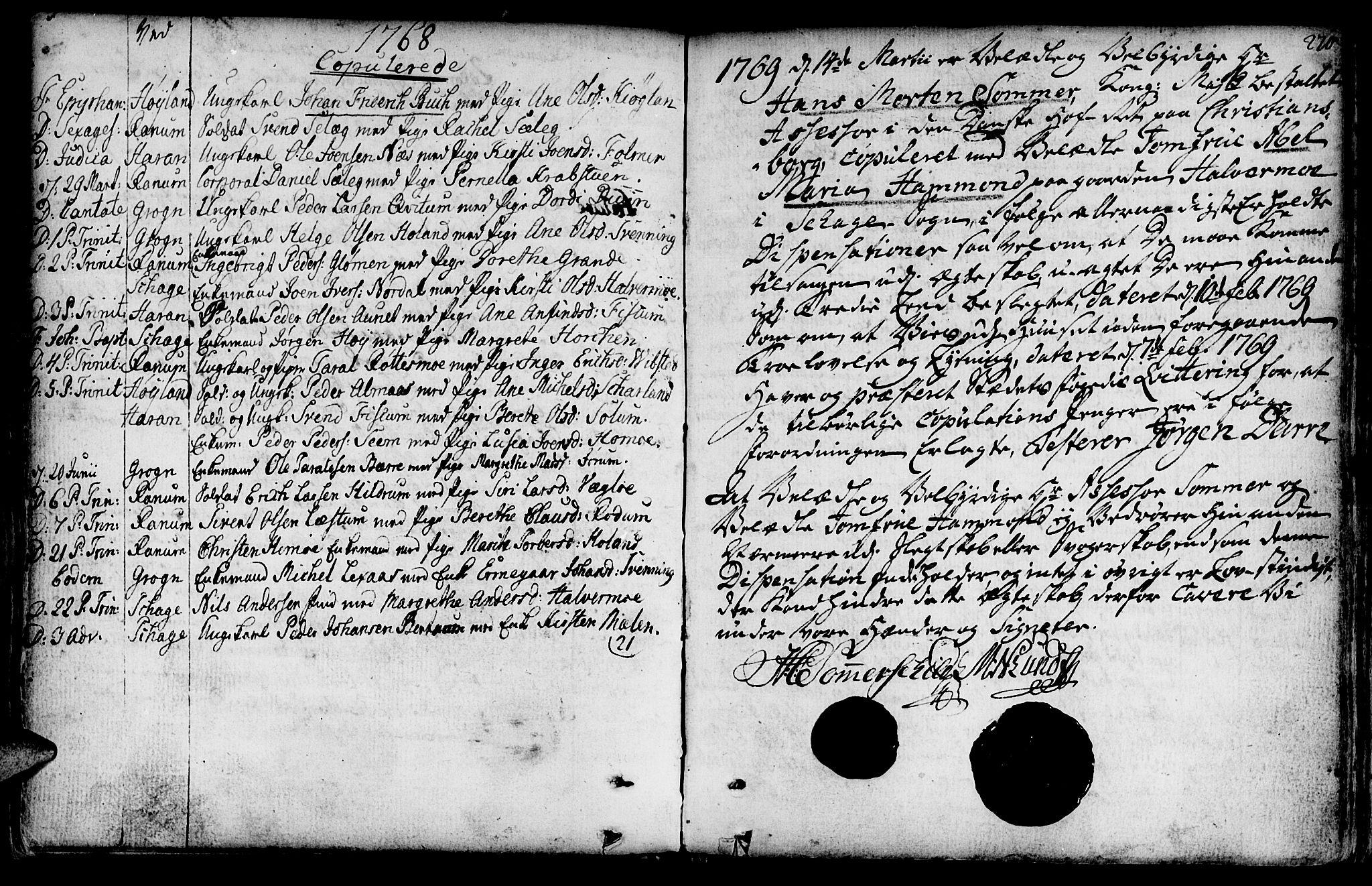 SAT, Ministerialprotokoller, klokkerbøker og fødselsregistre - Nord-Trøndelag, 764/L0542: Ministerialbok nr. 764A02, 1748-1779, s. 270
