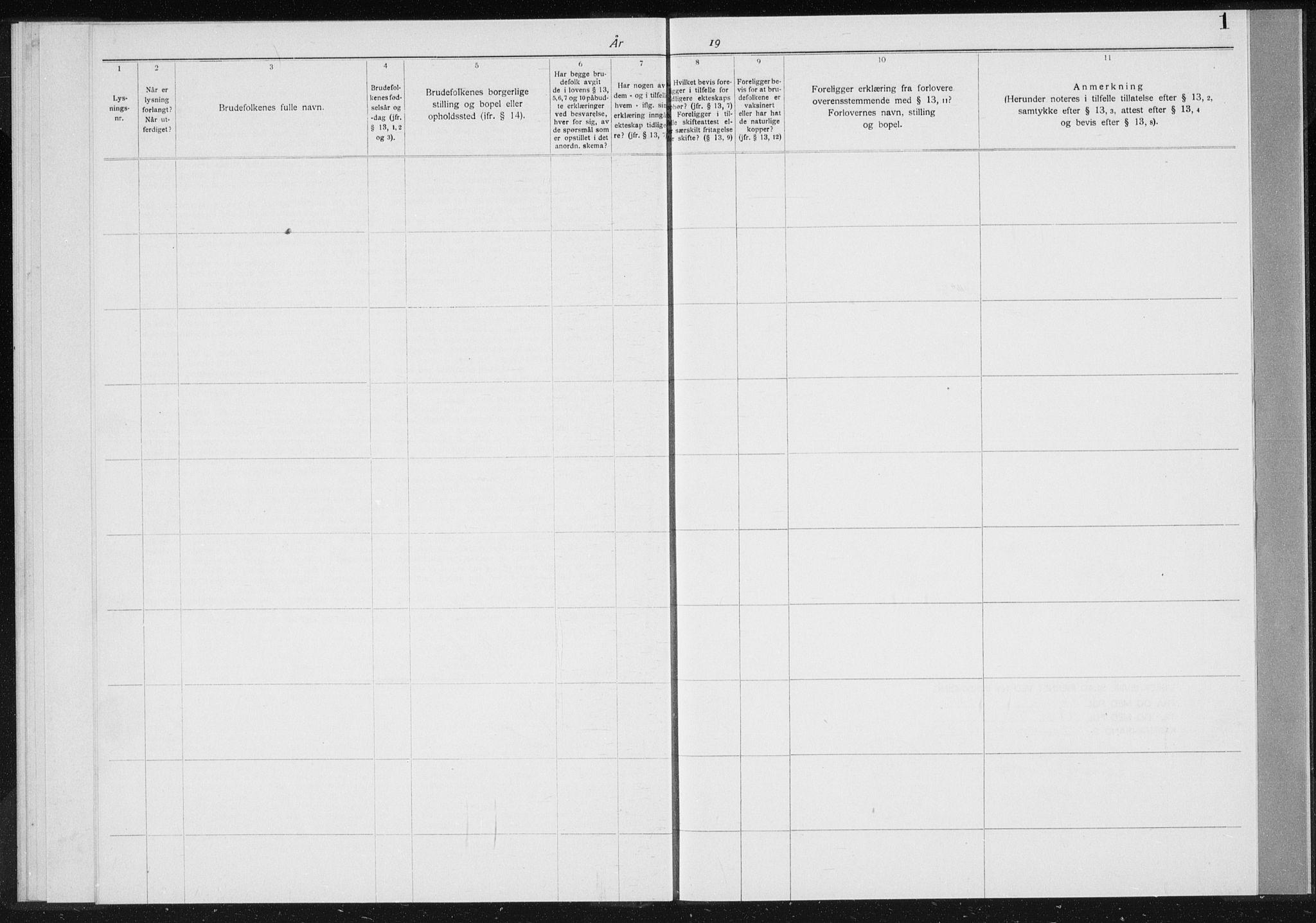 SAK, Baptistmenigheten i Gyland, F/Fa/L0001: Dissenterprotokoll nr. F 1, 1902-1937, s. 1