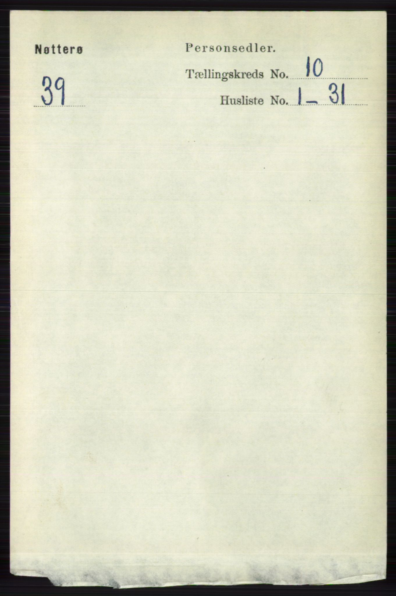 RA, Folketelling 1891 for 0722 Nøtterøy herred, 1891, s. 5194