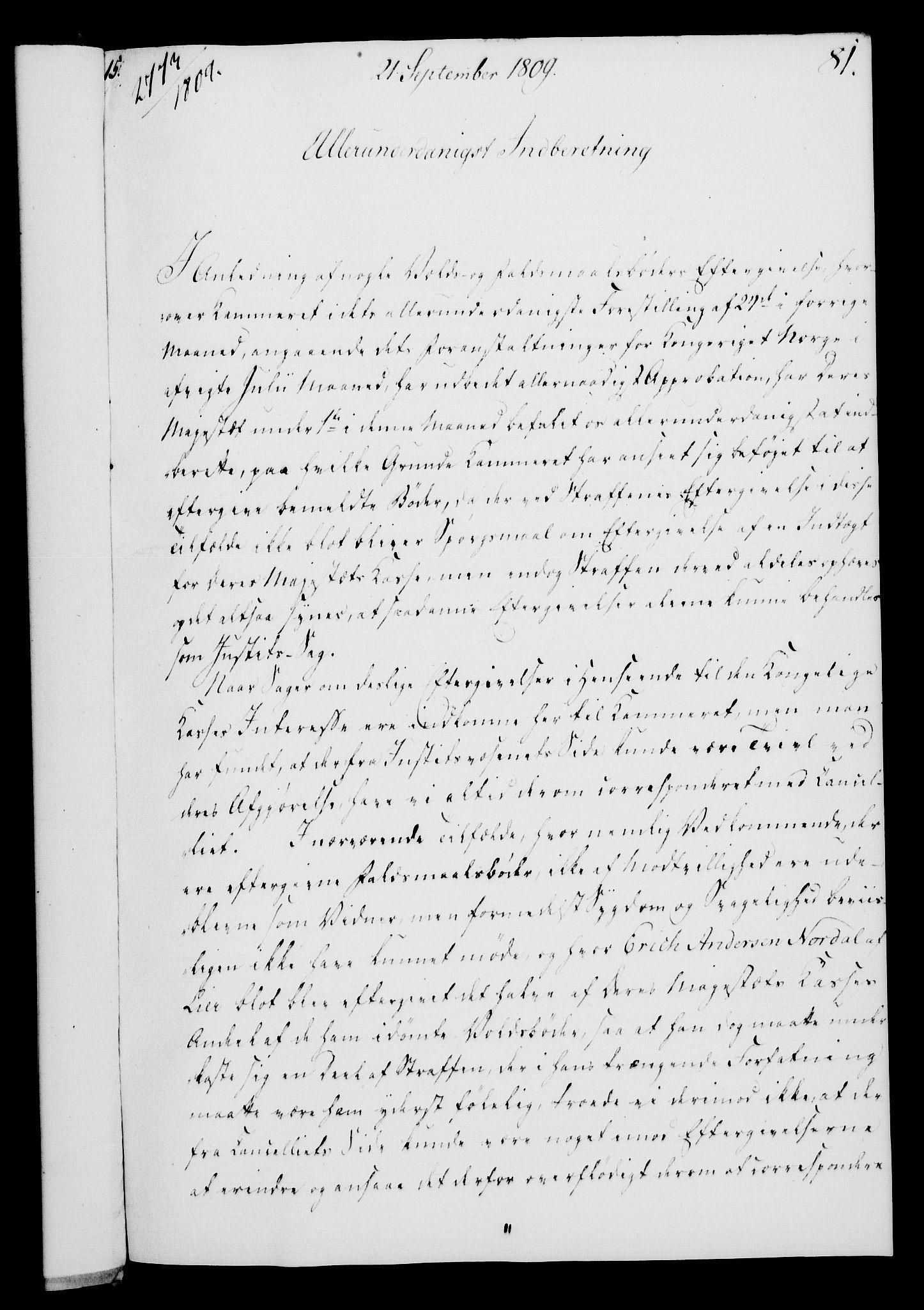 RA, Rentekammeret, Kammerkanselliet, G/Gf/Gfa/L0091: Norsk relasjons- og resolusjonsprotokoll (merket RK 52.91), 1809, s. 330