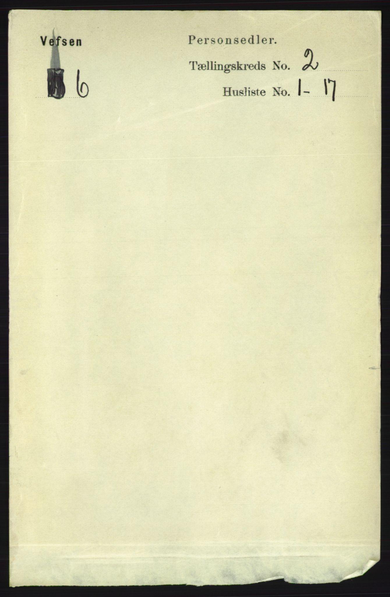 RA, Folketelling 1891 for 1824 Vefsn herred, 1891, s. 622