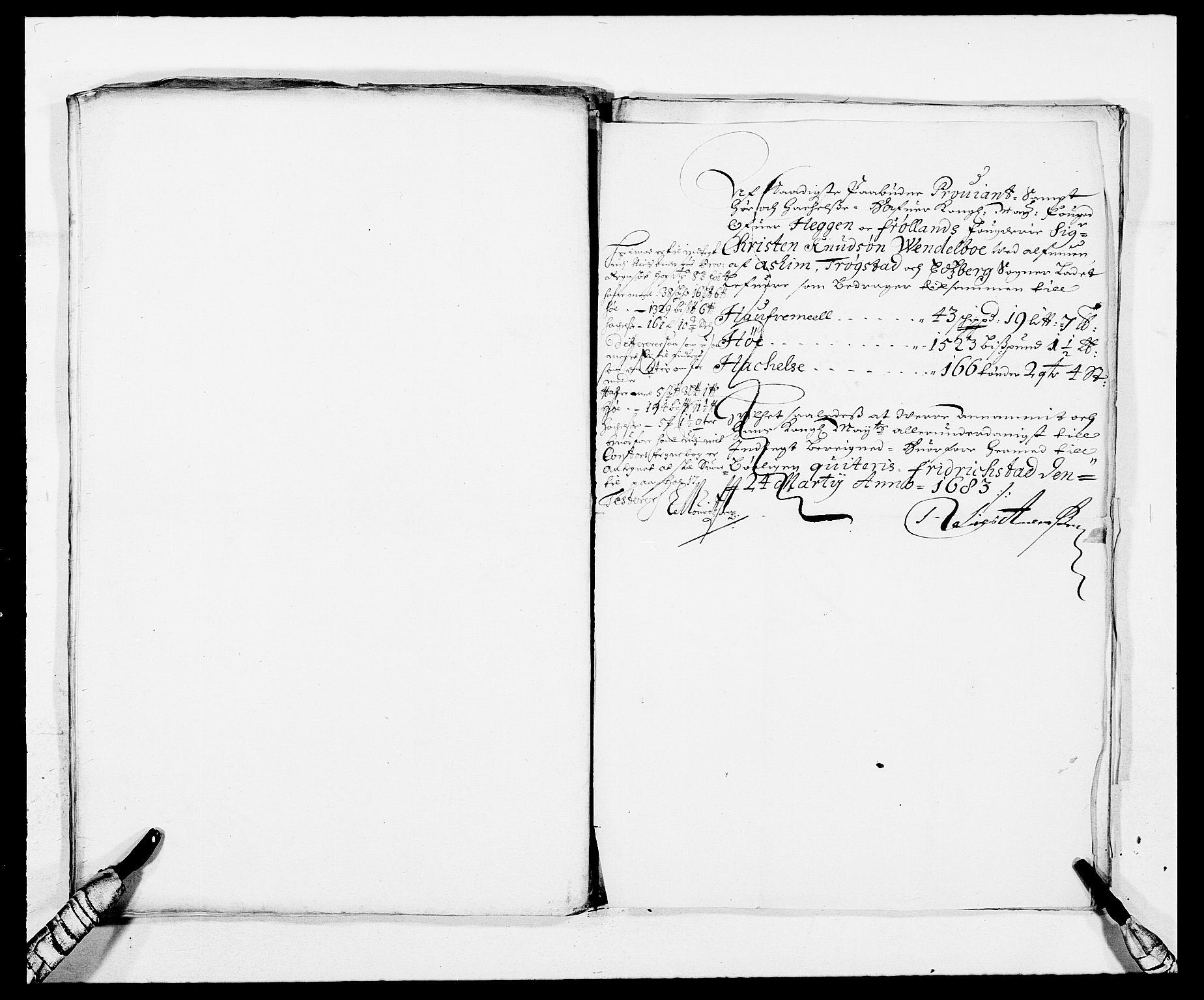 RA, Rentekammeret inntil 1814, Reviderte regnskaper, Fogderegnskap, R06/L0281: Fogderegnskap Heggen og Frøland, 1678-1686, s. 207