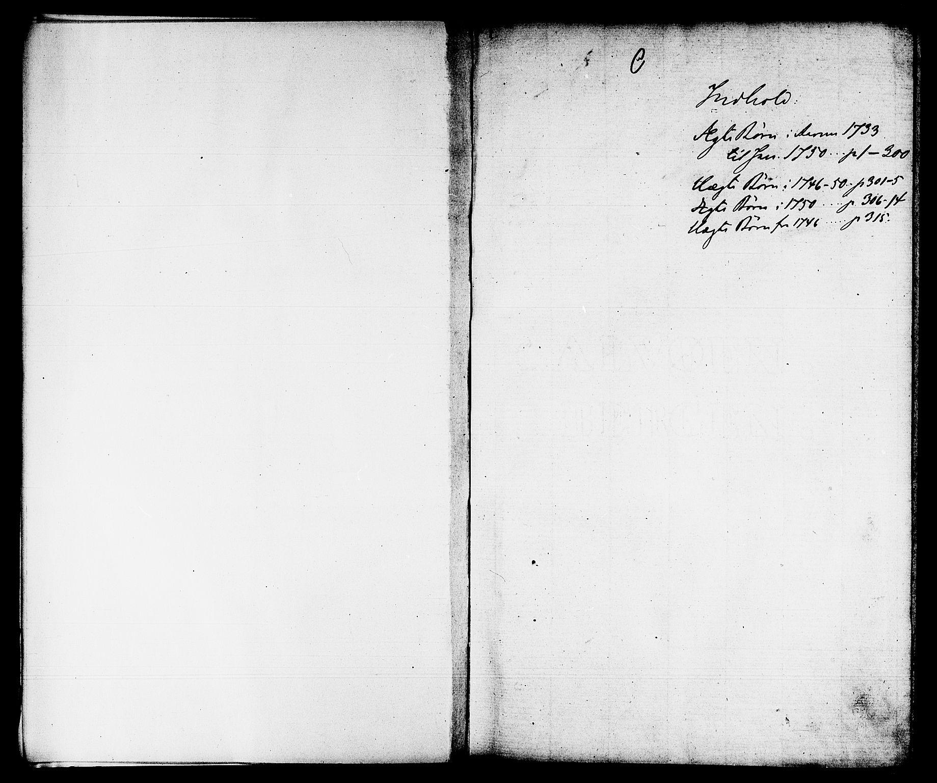 SAB, Domkirken Sokneprestembete, H/Haa/L0002: Ministerialbok nr. A 2, 1733-1750
