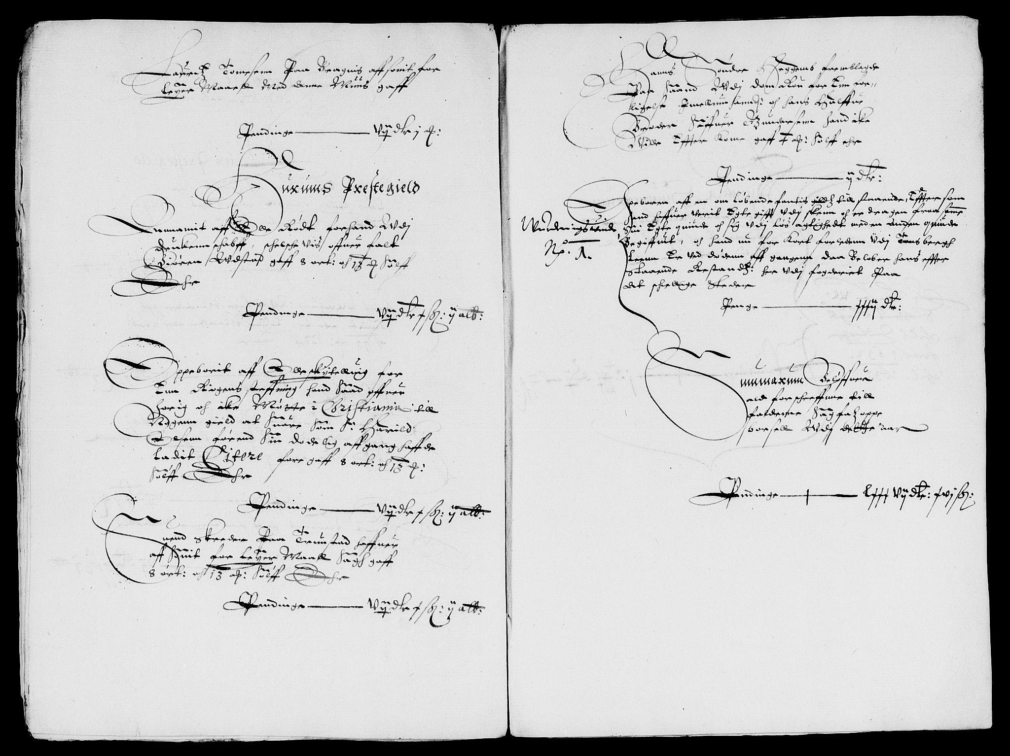 RA, Rentekammeret inntil 1814, Reviderte regnskaper, Lensregnskaper, R/Rb/Rba/L0109: Akershus len, 1629-1633, s. upaginert