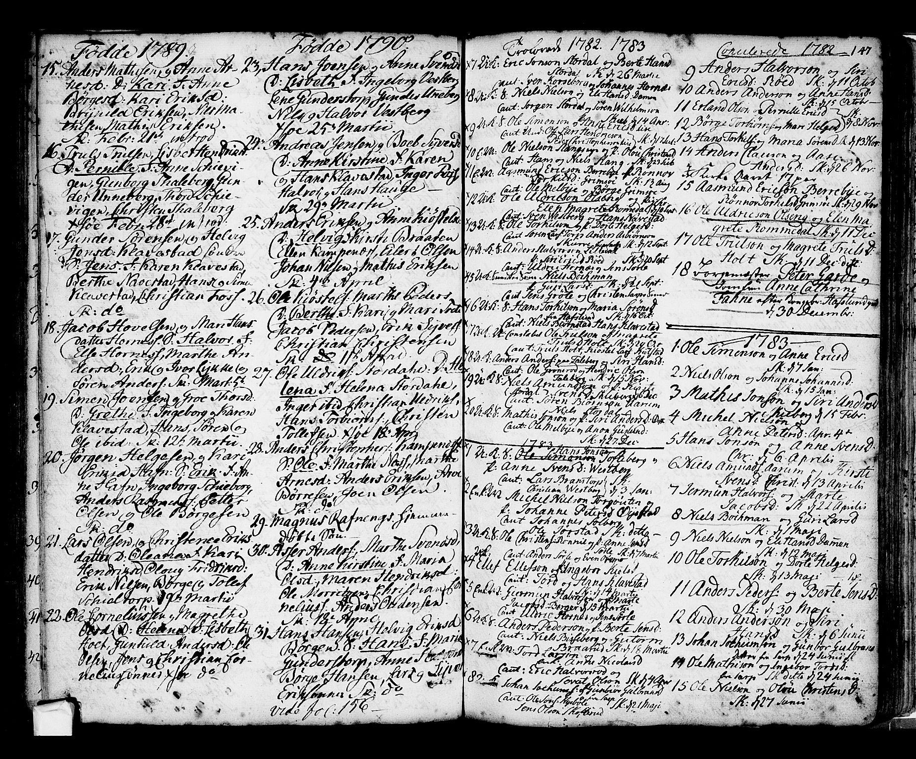 SAO, Skjeberg prestekontor Kirkebøker, F/Fa/L0002: Ministerialbok nr. I 2, 1726-1791, s. 147