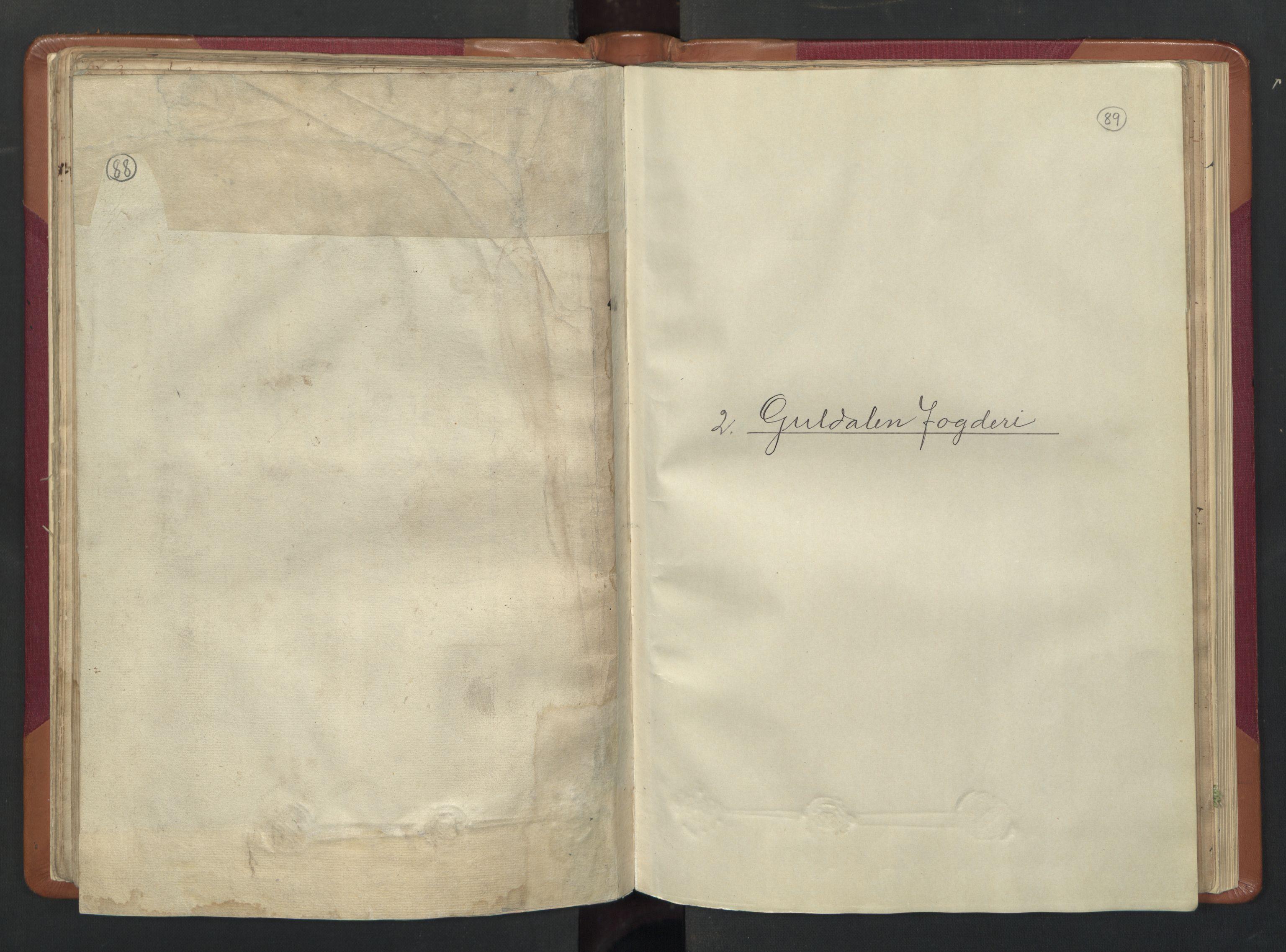 RA, Manntallet 1701, nr. 13: Orkdal fogderi og Gauldal fogderi med Røros kobberverk, 1701, s. 88-89
