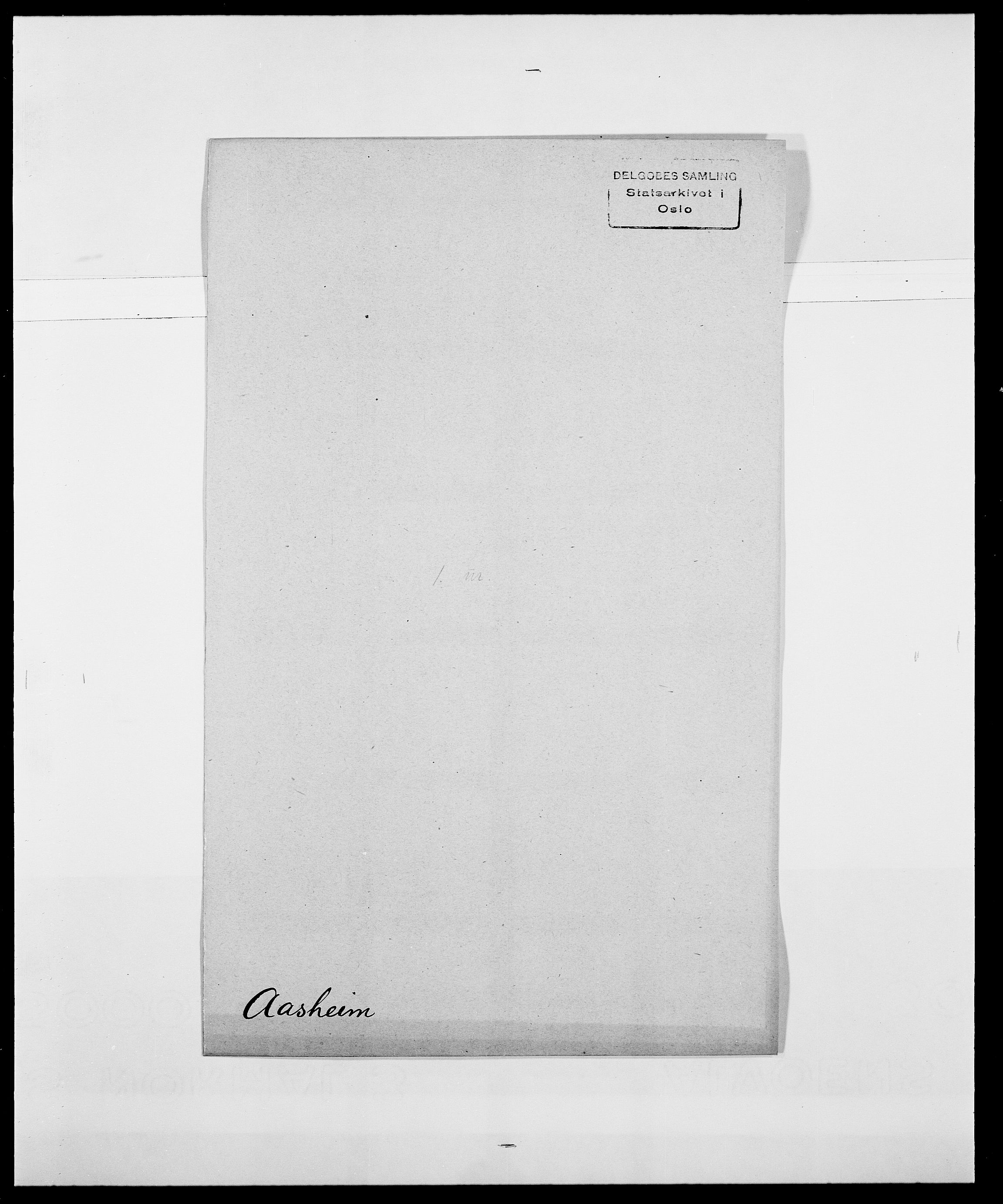 SAO, Delgobe, Charles Antoine - samling, D/Da/L0001: Aabye - Angerman, s. 161
