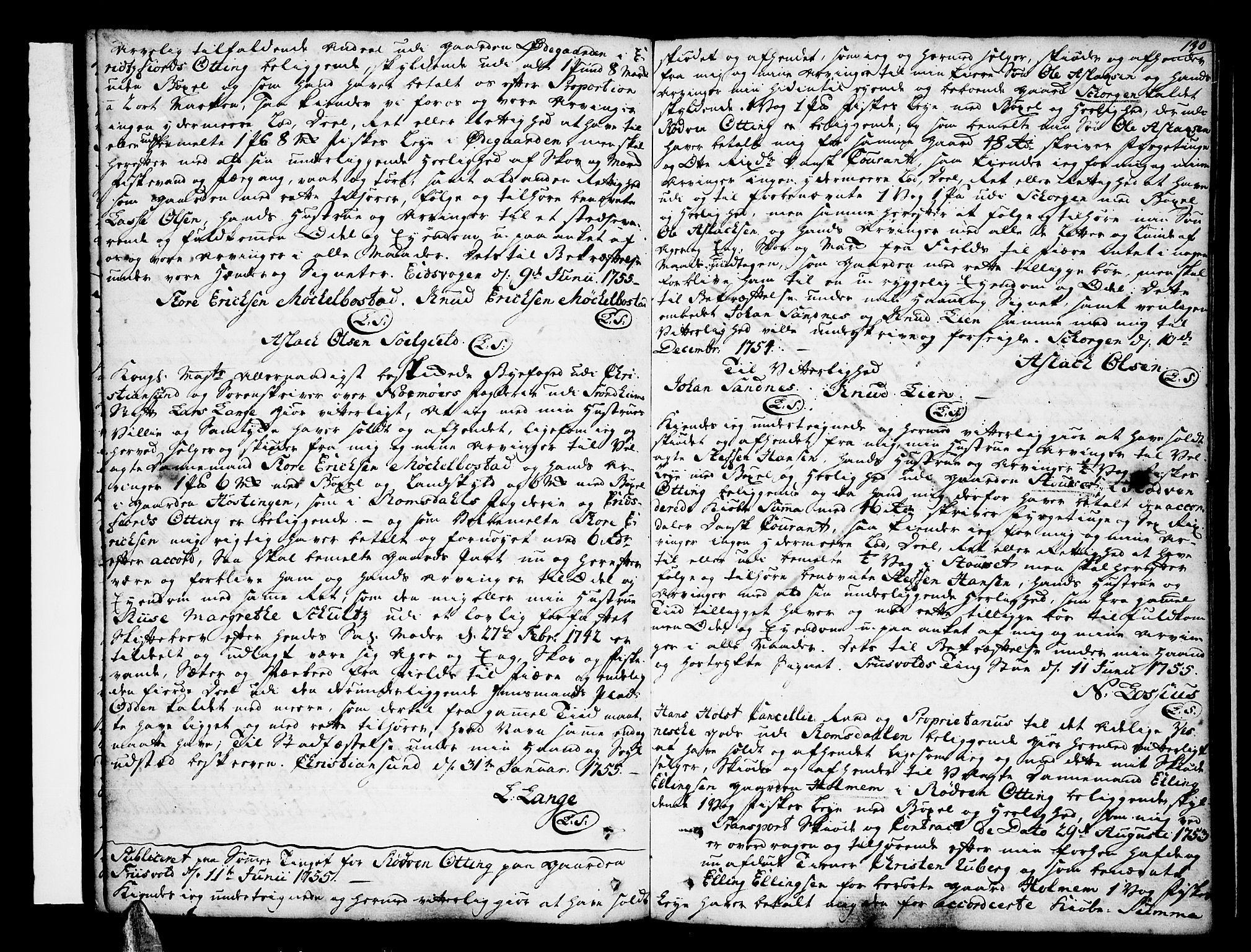 SAT, Romsdal sorenskriveri, 2/2C/L0003: Pantebok nr. 3, 1747-1767, s. 130