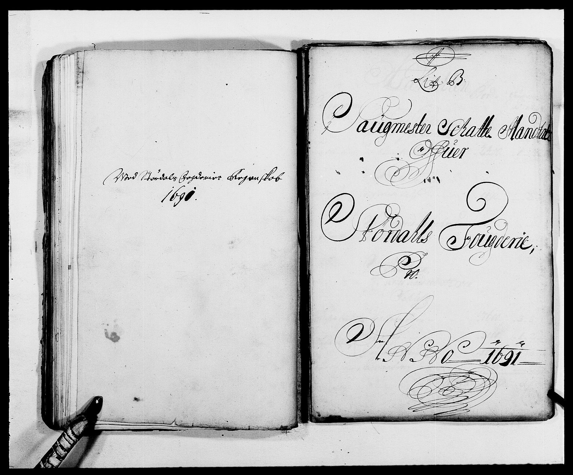 RA, Rentekammeret inntil 1814, Reviderte regnskaper, Fogderegnskap, R62/L4184: Fogderegnskap Stjørdal og Verdal, 1690-1691, s. 306