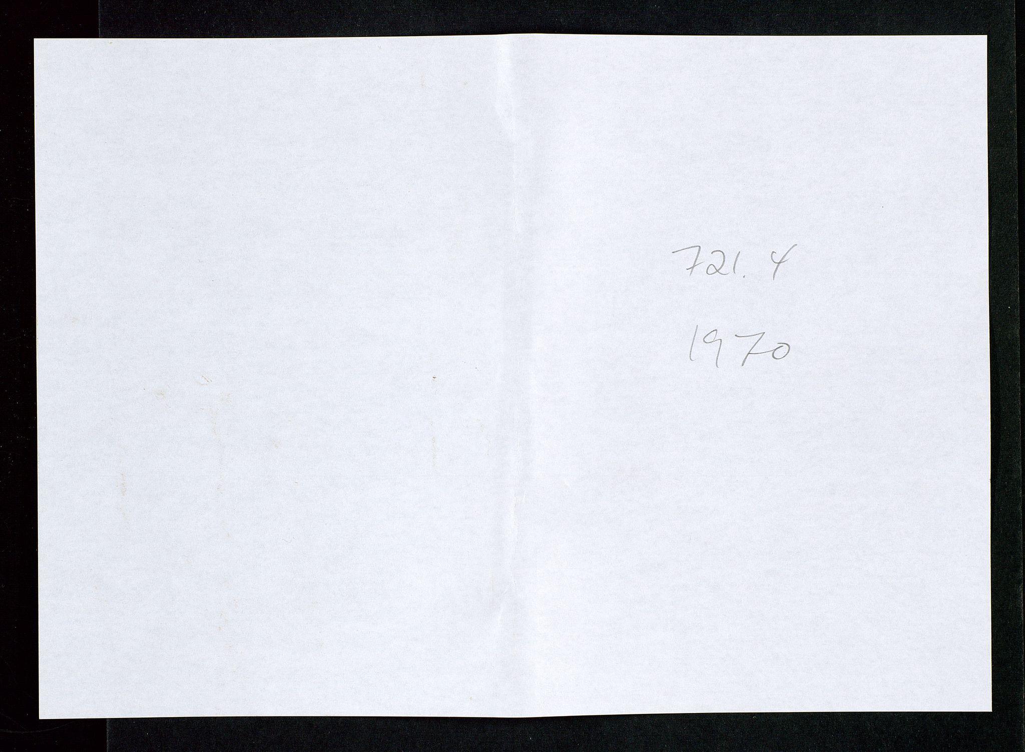 SAST, Industridepartementet, Oljekontoret, Da/L0008:  Arkivnøkkel 721- 722 Geofysikk, forskning, 1970-1972, s. 113