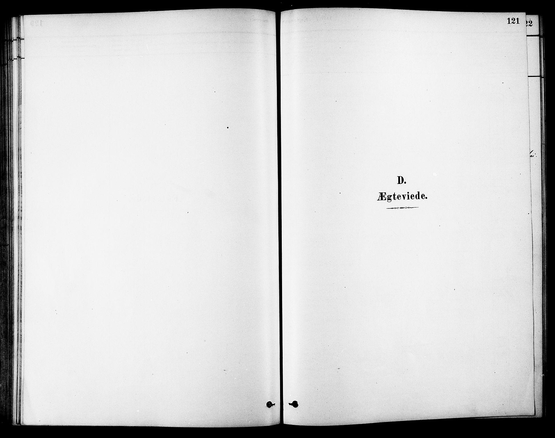 SAT, Ministerialprotokoller, klokkerbøker og fødselsregistre - Sør-Trøndelag, 686/L0983: Ministerialbok nr. 686A01, 1879-1890, s. 121