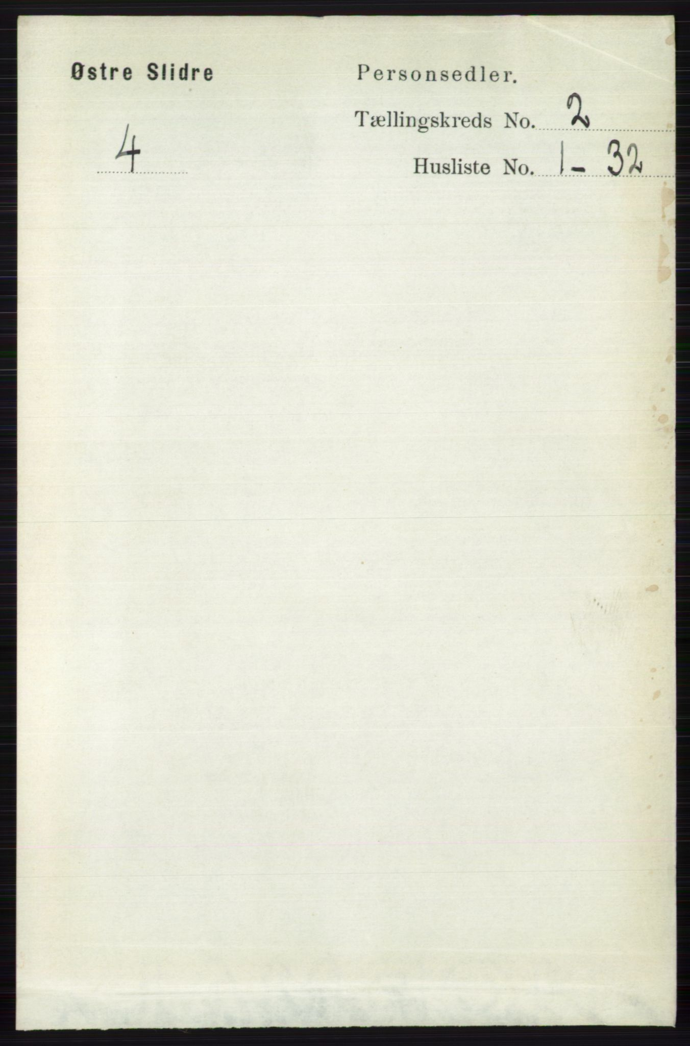 RA, Folketelling 1891 for 0544 Øystre Slidre herred, 1891, s. 272