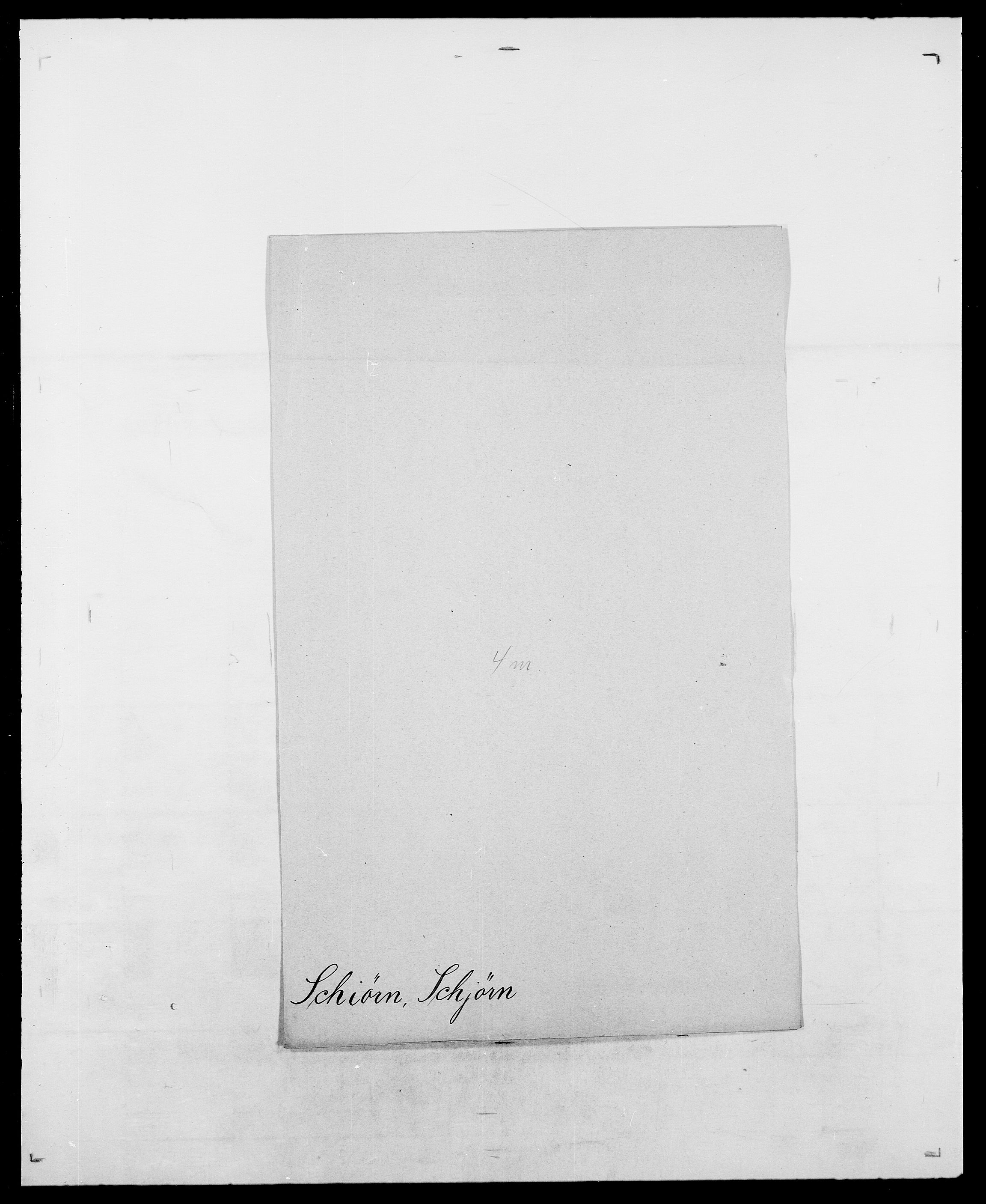SAO, Delgobe, Charles Antoine - samling, D/Da/L0034: Saabye - Schmincke, s. 606