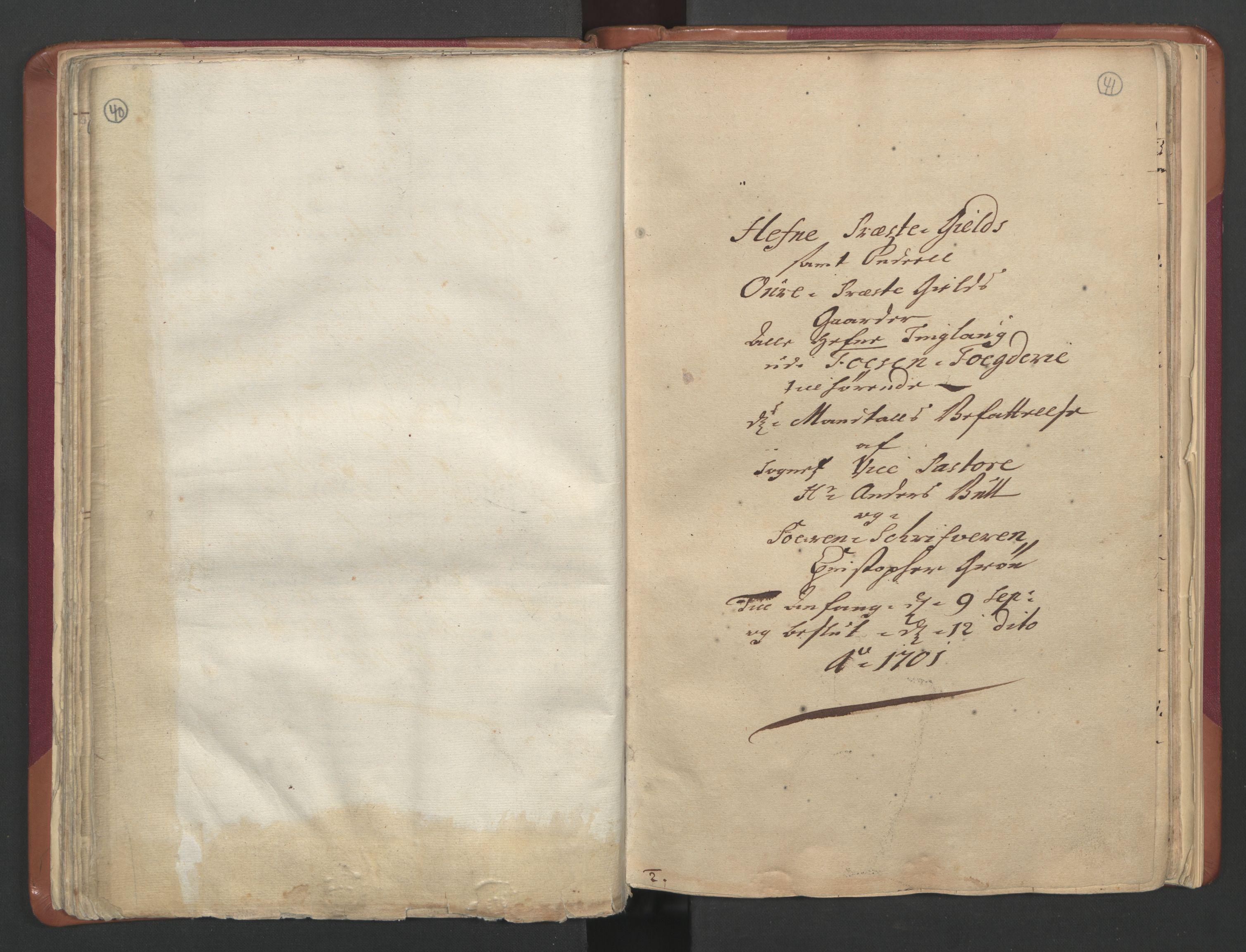 RA, Manntallet 1701, nr. 12: Fosen fogderi, 1701, s. 40-41