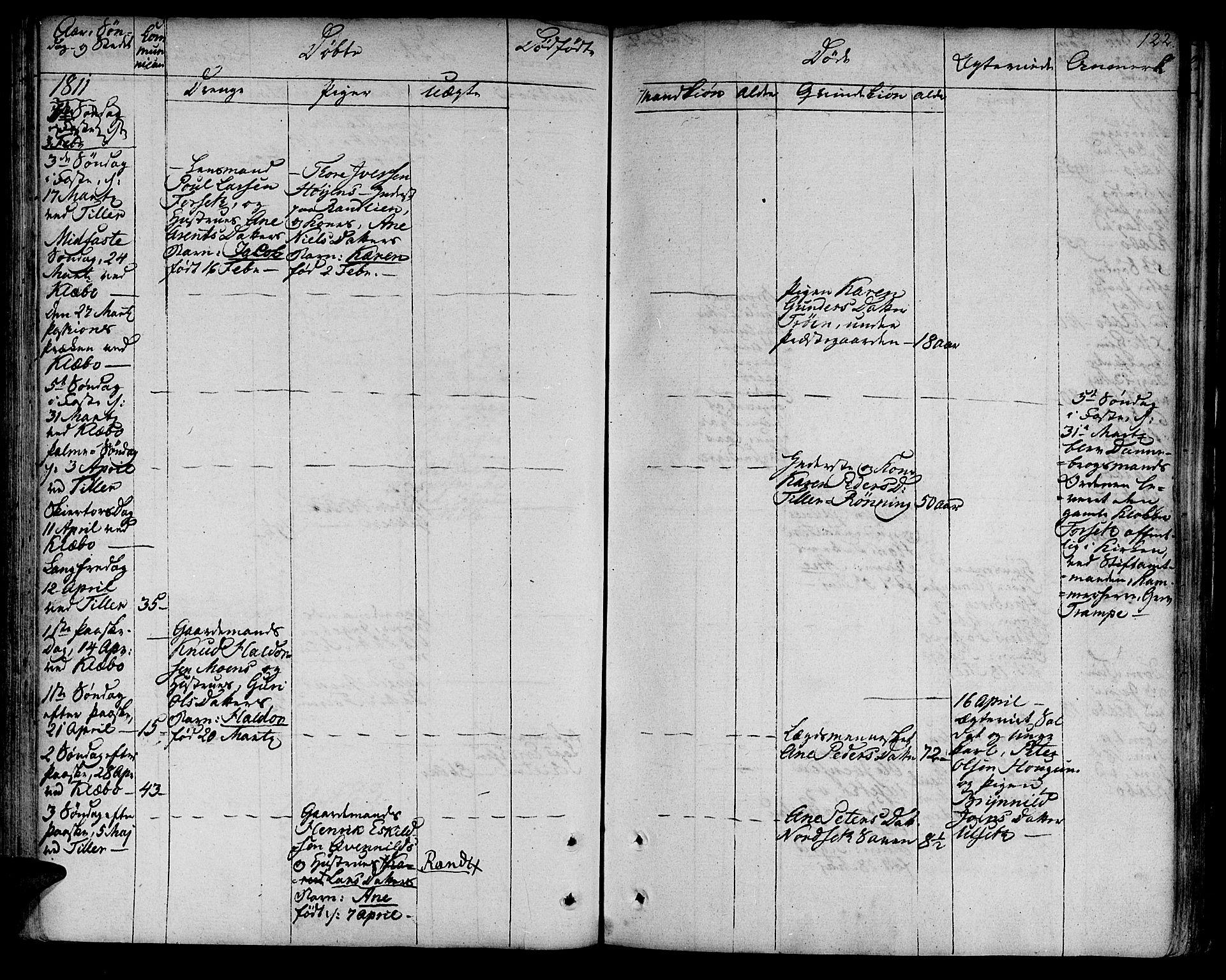 SAT, Ministerialprotokoller, klokkerbøker og fødselsregistre - Sør-Trøndelag, 618/L0438: Ministerialbok nr. 618A03, 1783-1815, s. 122