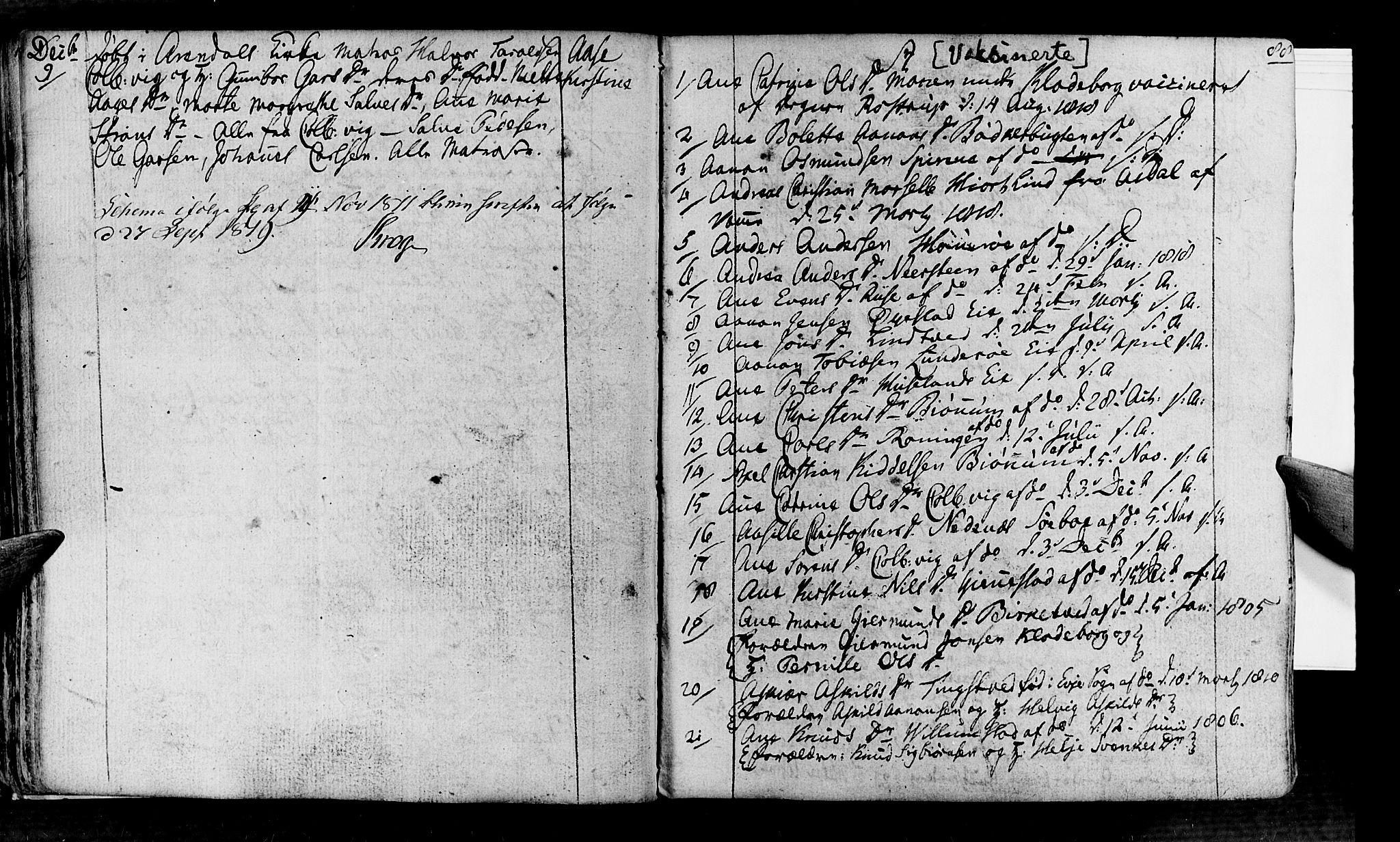 SAK, Øyestad sokneprestkontor, F/Fa/L0011: Ministerialbok nr. A 11, 1805-1824, s. 88