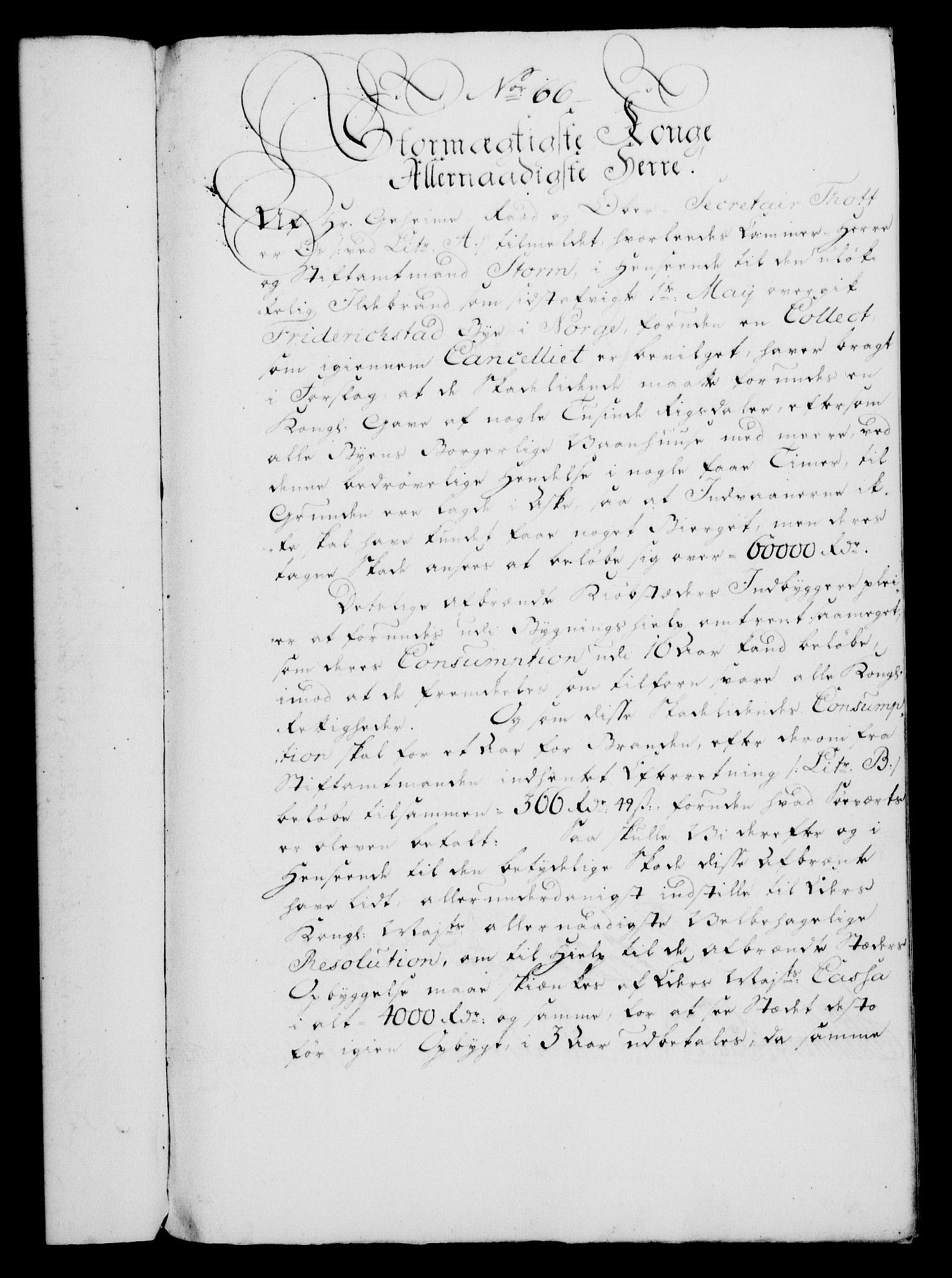 RA, Rentekammeret, Kammerkanselliet, G/Gf/Gfa/L0046: Norsk relasjons- og resolusjonsprotokoll (merket RK 52.46), 1764, s. 290