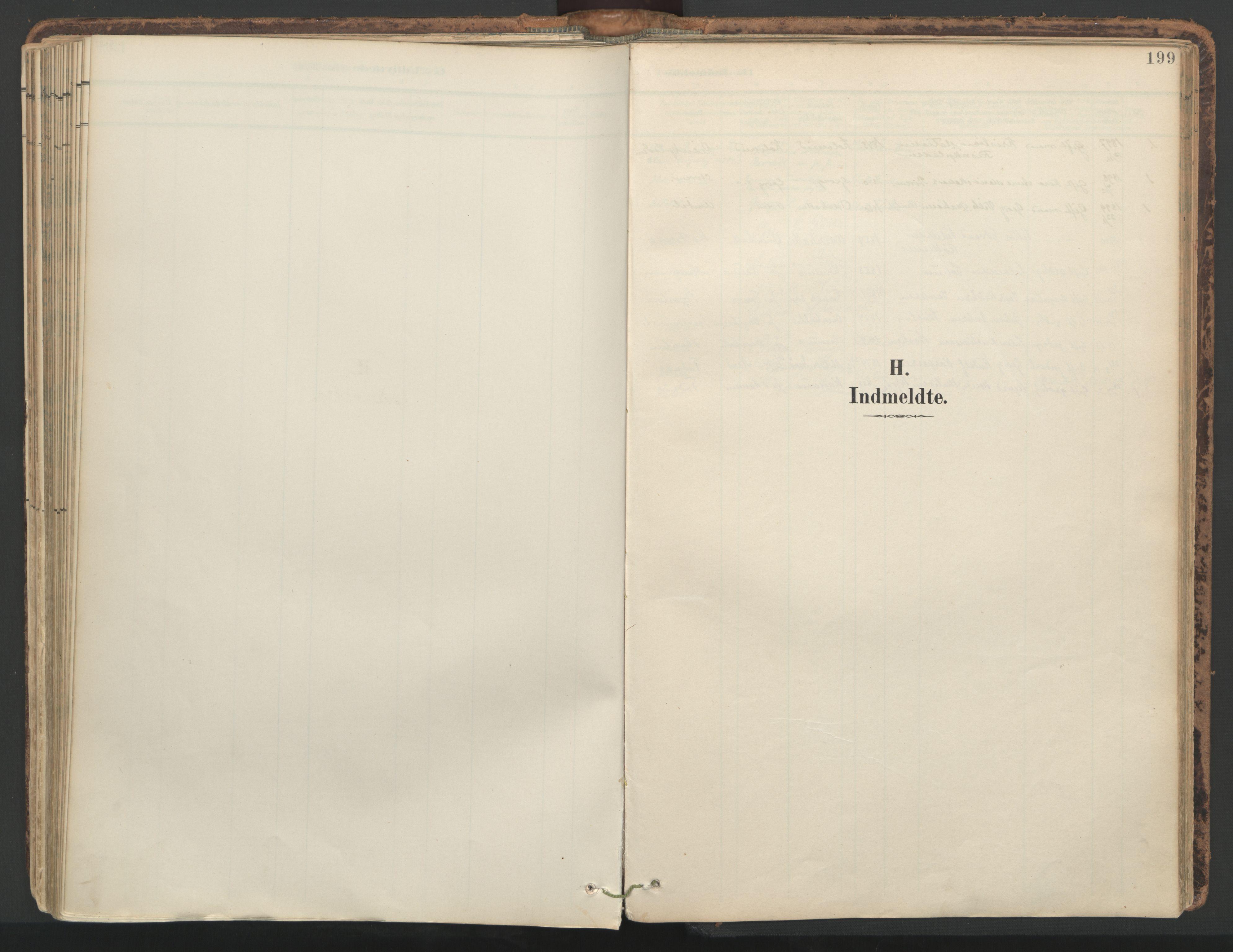 SAT, Ministerialprotokoller, klokkerbøker og fødselsregistre - Nord-Trøndelag, 764/L0556: Ministerialbok nr. 764A11, 1897-1924, s. 199
