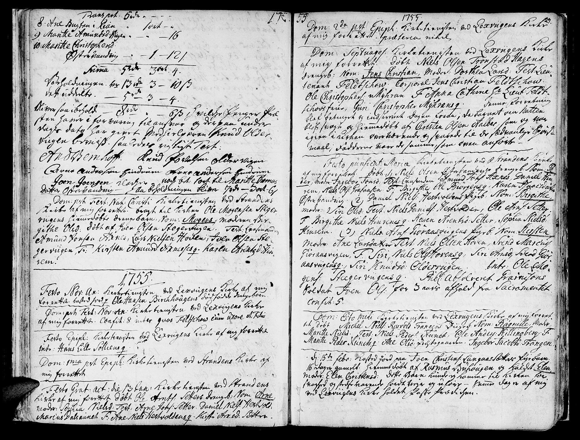 SAT, Ministerialprotokoller, klokkerbøker og fødselsregistre - Nord-Trøndelag, 701/L0003: Ministerialbok nr. 701A03, 1751-1783, s. 29