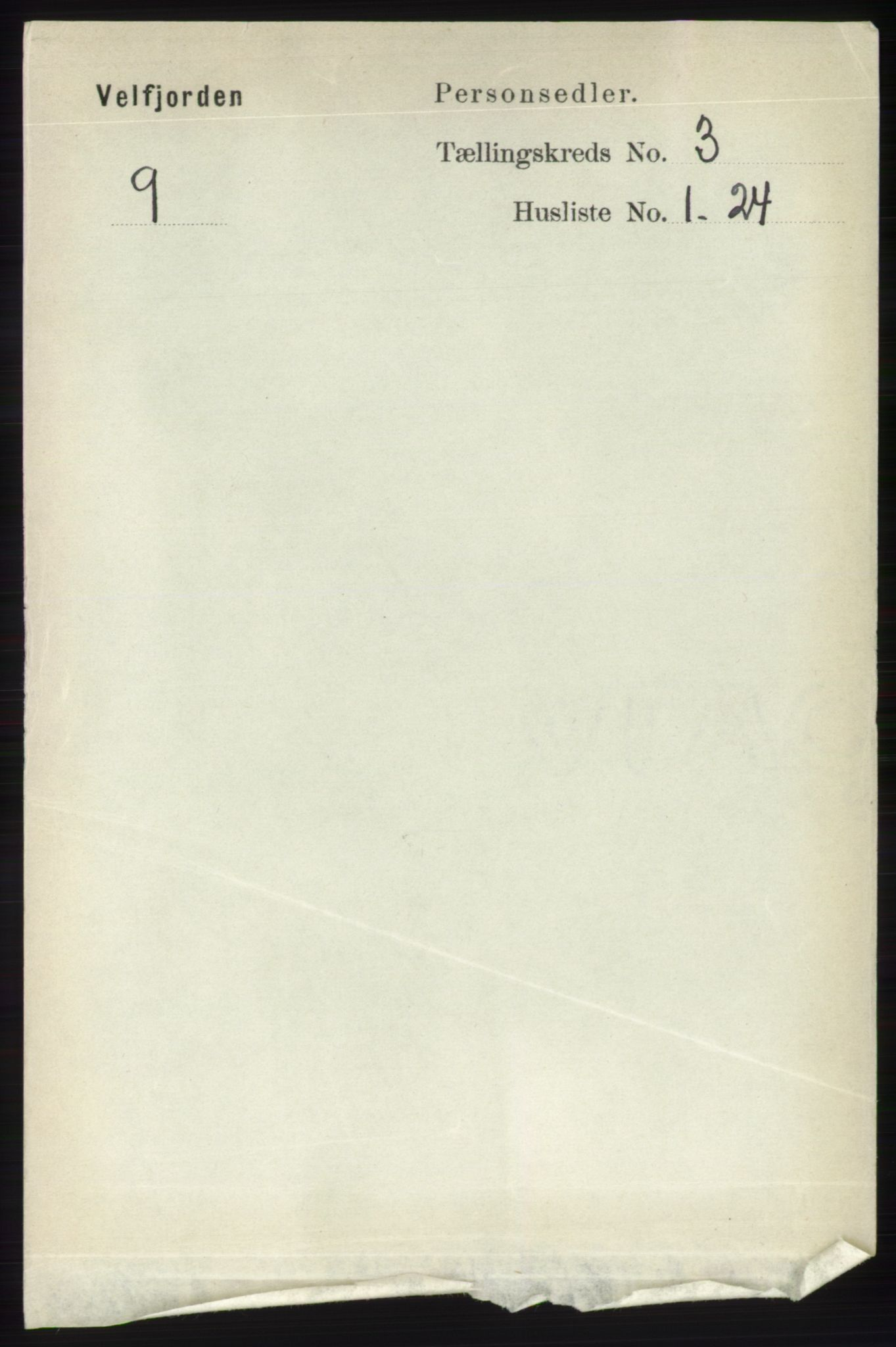 RA, Folketelling 1891 for 1813 Velfjord herred, 1891, s. 1029