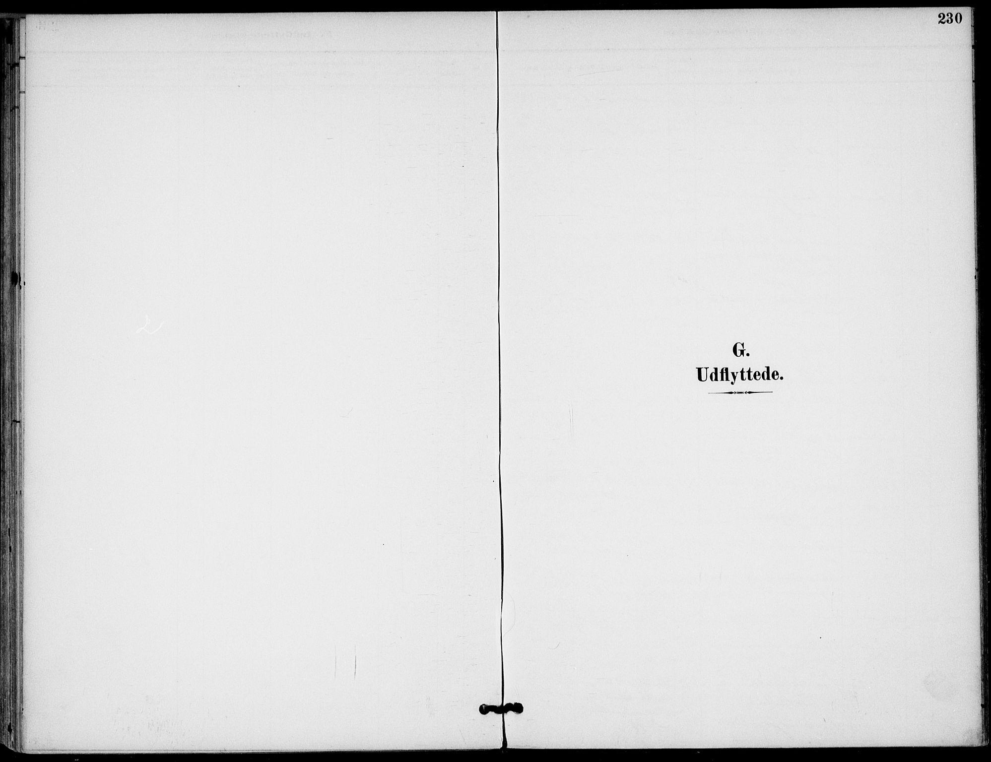 SAKO, Drangedal kirkebøker, F/Fa/L0012: Ministerialbok nr. 12, 1895-1905, s. 230