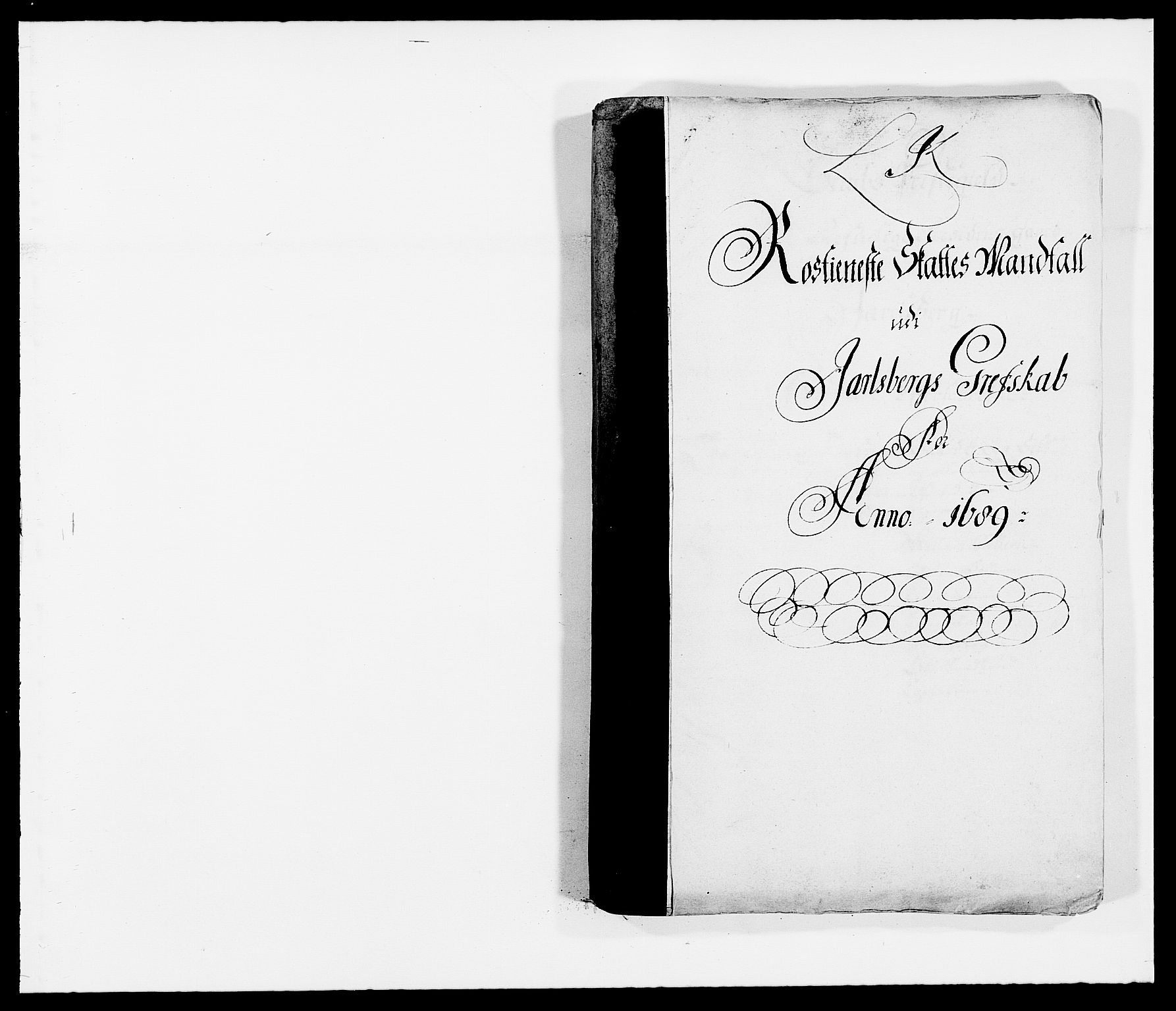 RA, Rentekammeret inntil 1814, Reviderte regnskaper, Fogderegnskap, R32/L1860: Fogderegnskap Jarlsberg grevskap, 1686-1690, s. 371