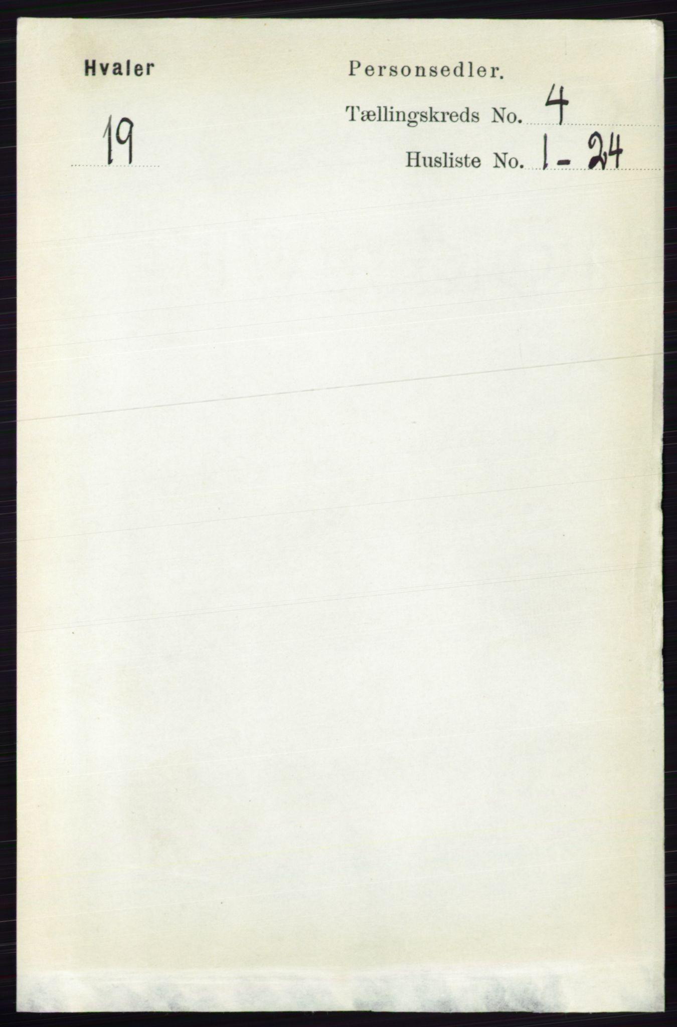 RA, Folketelling 1891 for 0111 Hvaler herred, 1891, s. 2638