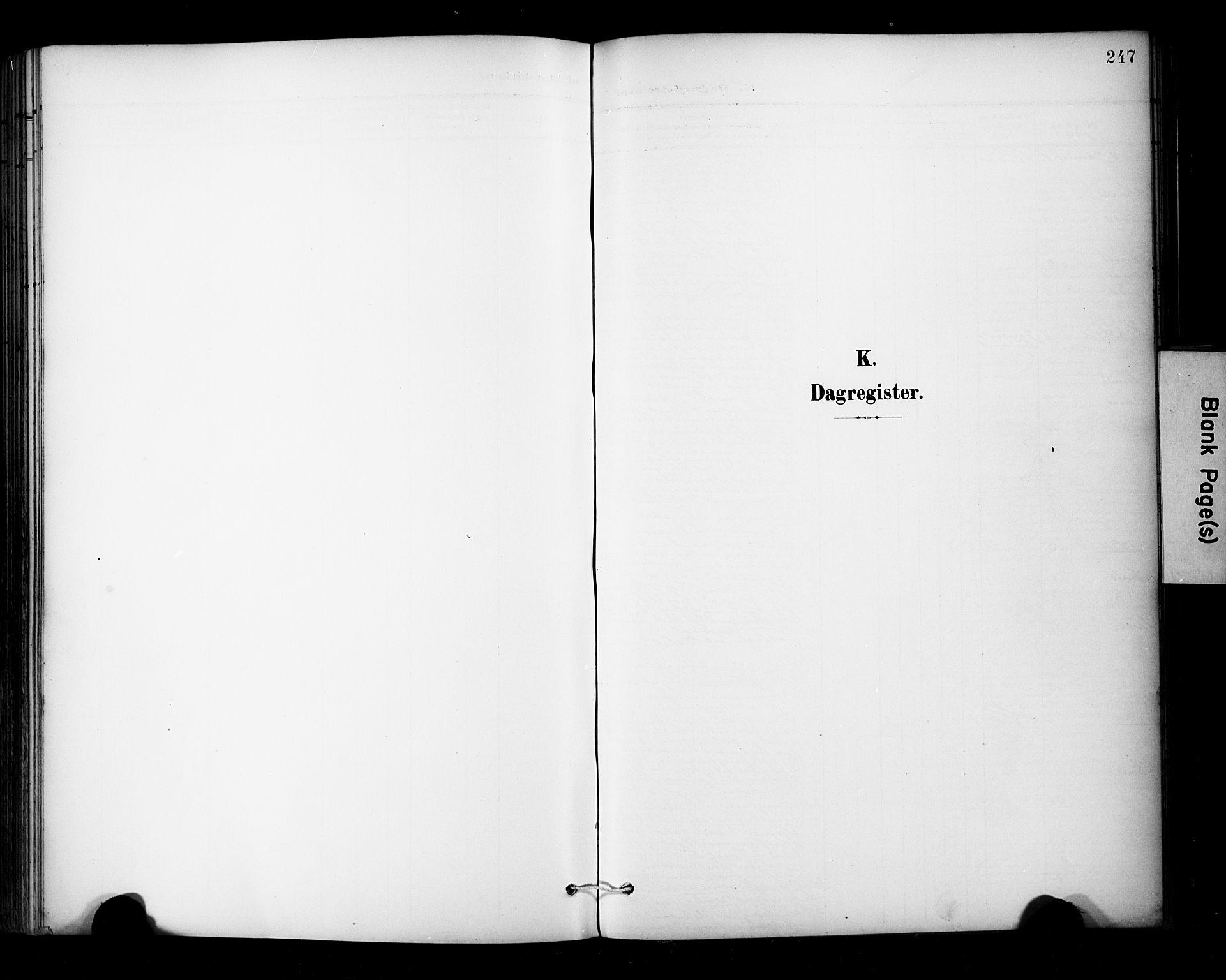 SAT, Ministerialprotokoller, klokkerbøker og fødselsregistre - Sør-Trøndelag, 681/L0936: Ministerialbok nr. 681A14, 1899-1908, s. 247