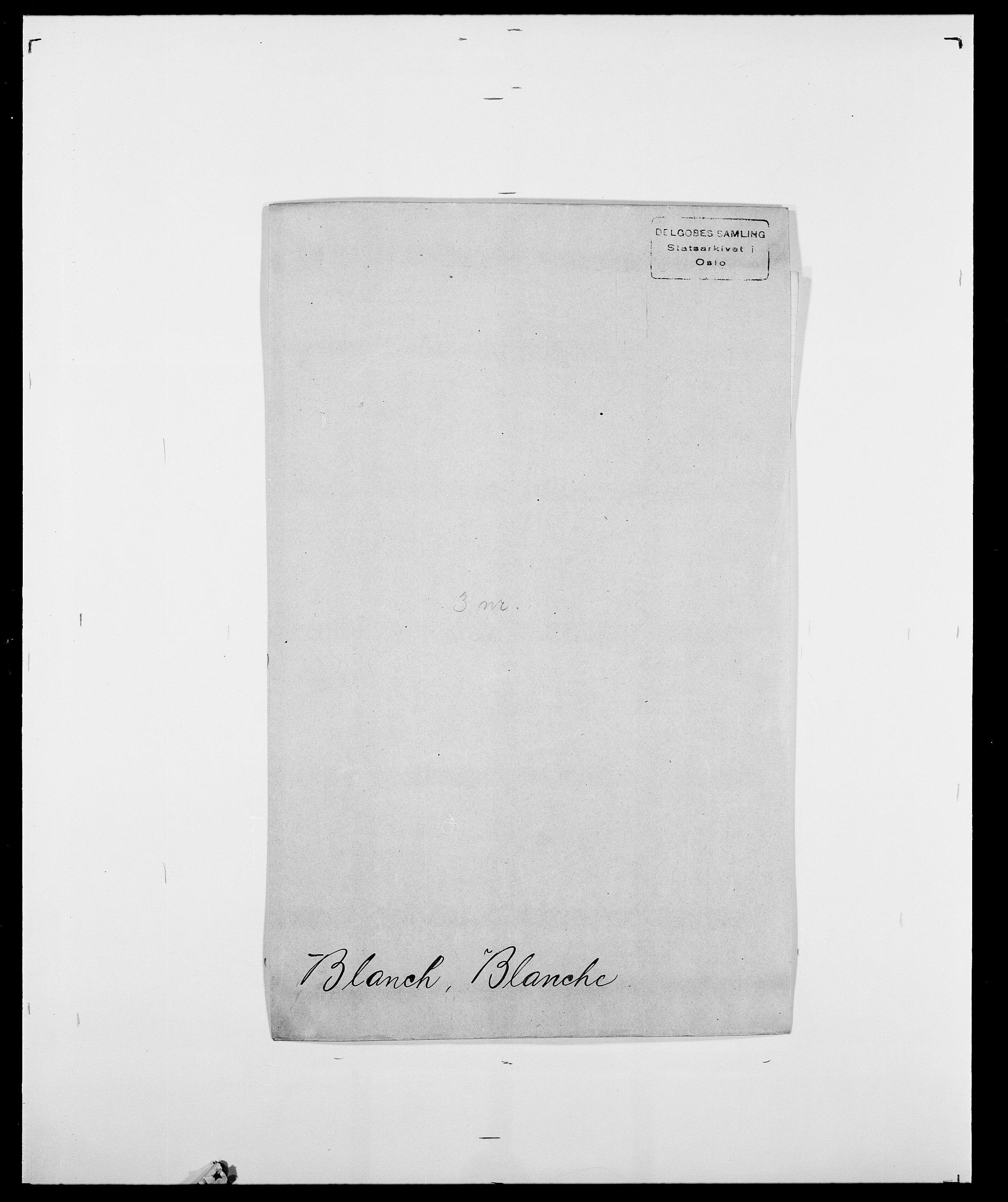 SAO, Delgobe, Charles Antoine - samling, D/Da/L0004: Bergendahl - Blære, s. 531