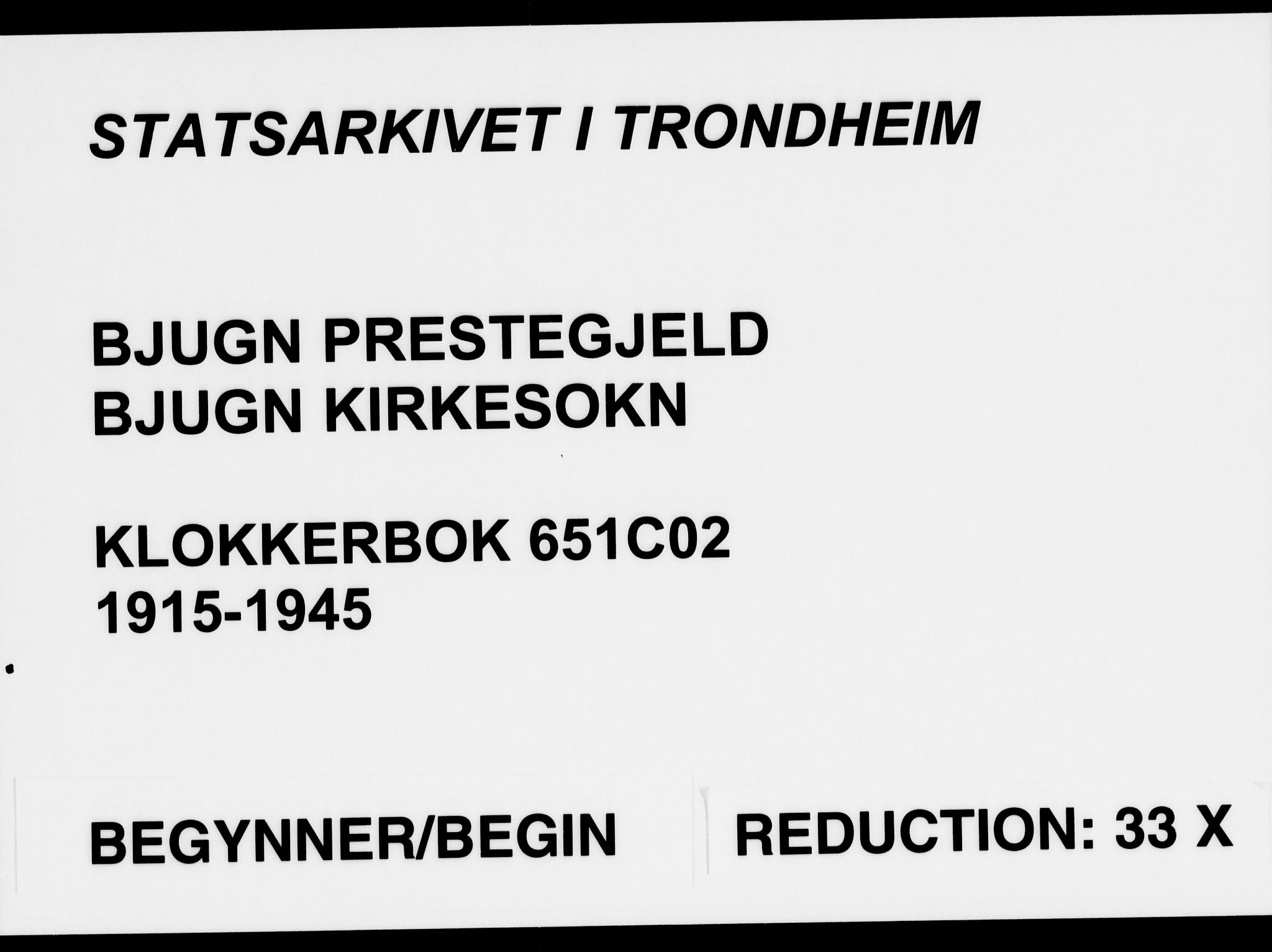 SAT, Ministerialprotokoller, klokkerbøker og fødselsregistre - Sør-Trøndelag, 651/L0648: Klokkerbok nr. 651C02, 1915-1945